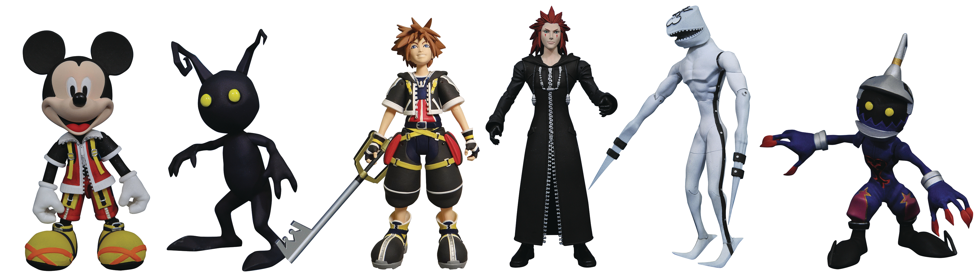 KINGDOM HEARTS SELECT AF SERIES 1 ASST