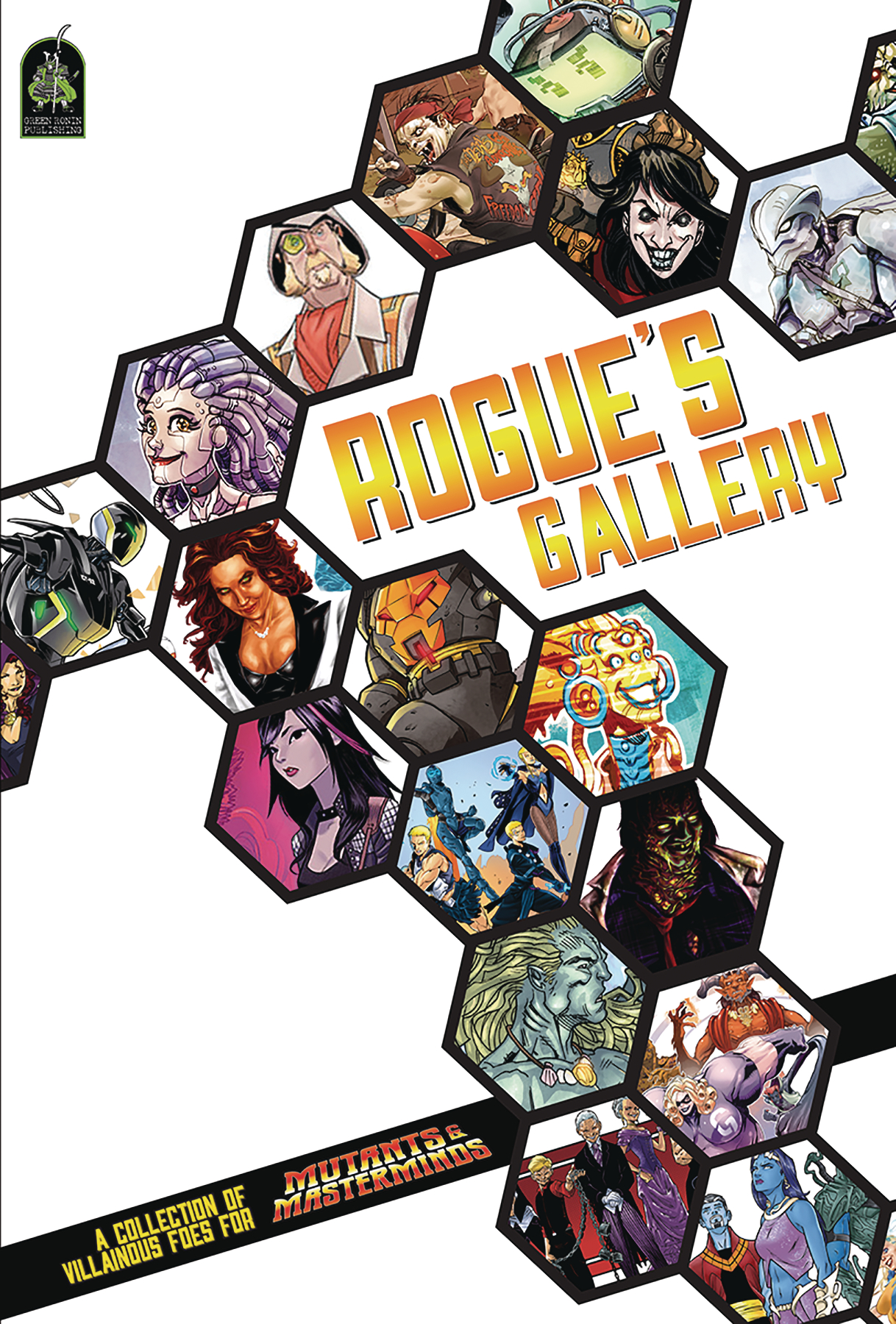 MUTANTS AND MASTERMINDS RPG ROGUES GALLERY SOURCEBOOK HC (RE