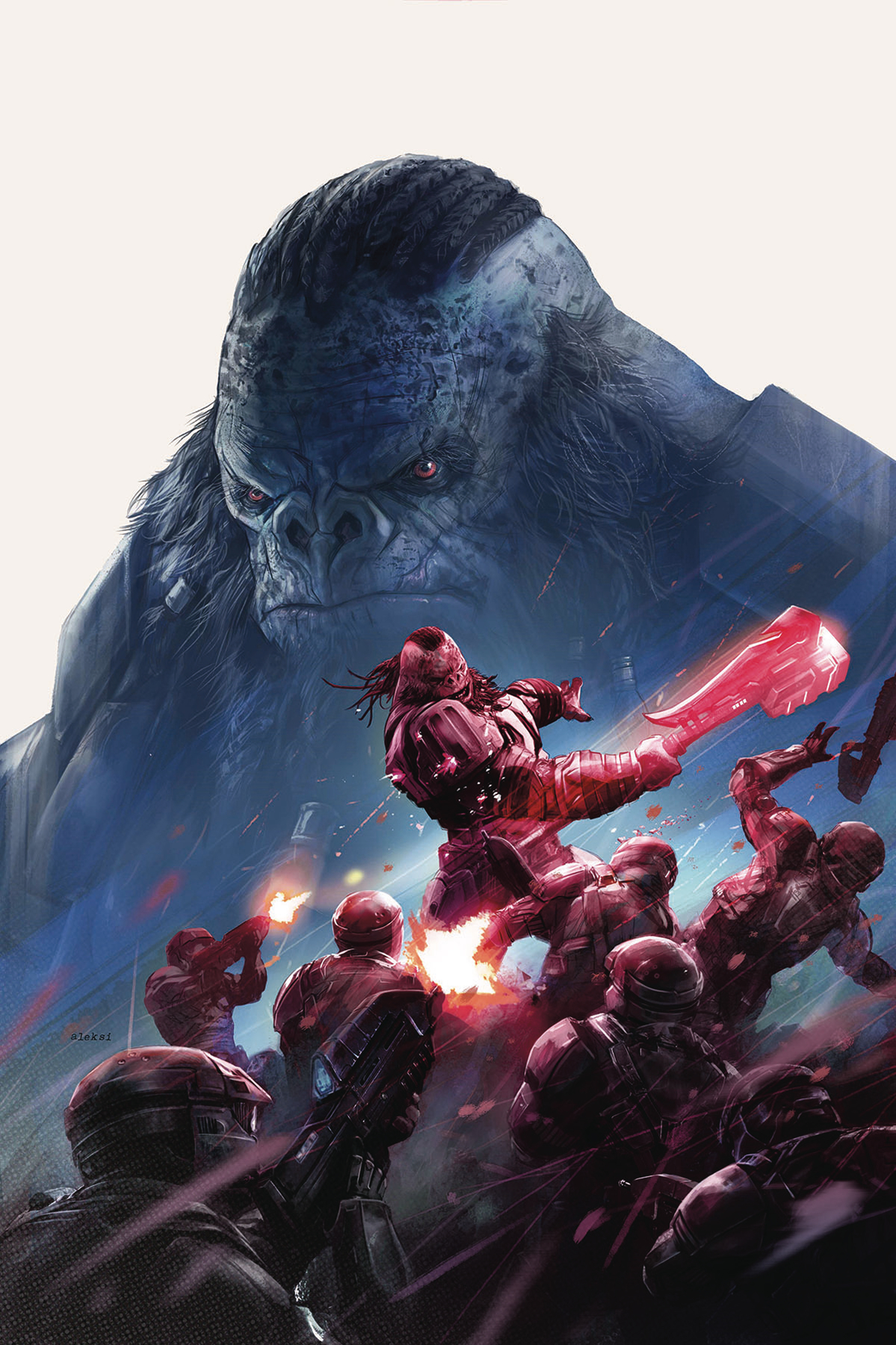 HALO RISE OF ATRIOX #1