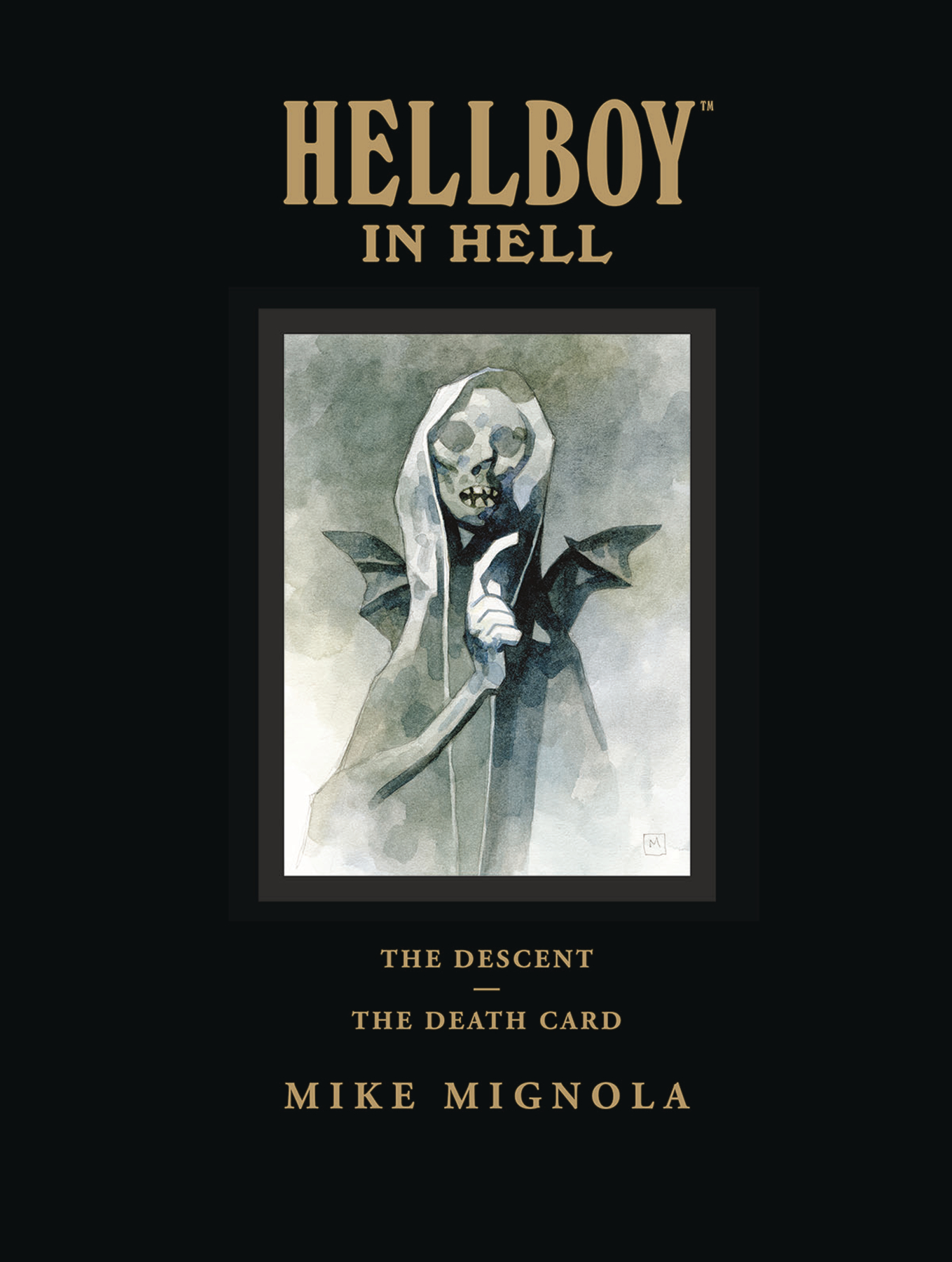 HELLBOY IN HELL LIBRARY EDITION HC