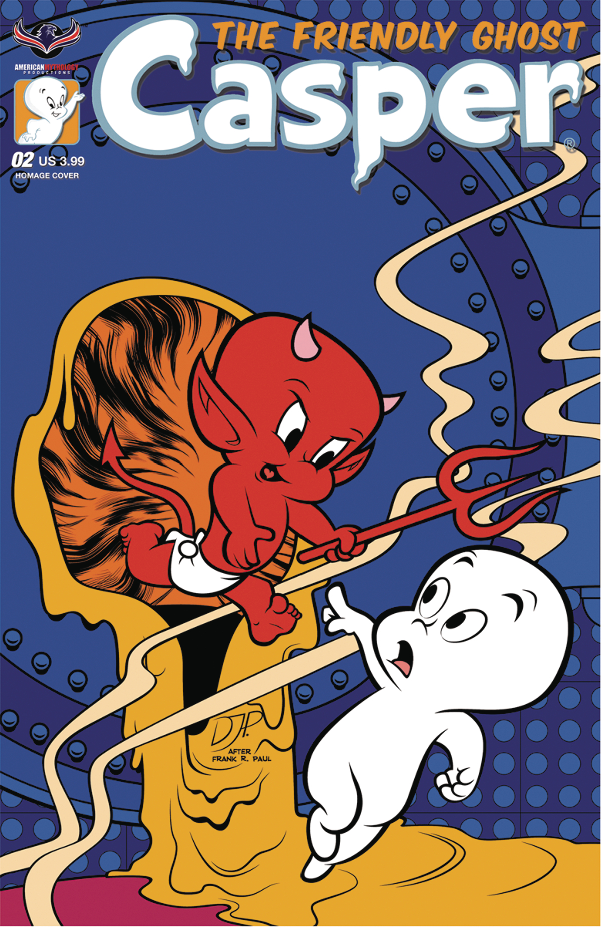 CASPER THE FRIENDLY GHOST #2 HOMAGE JOURDAN CVR