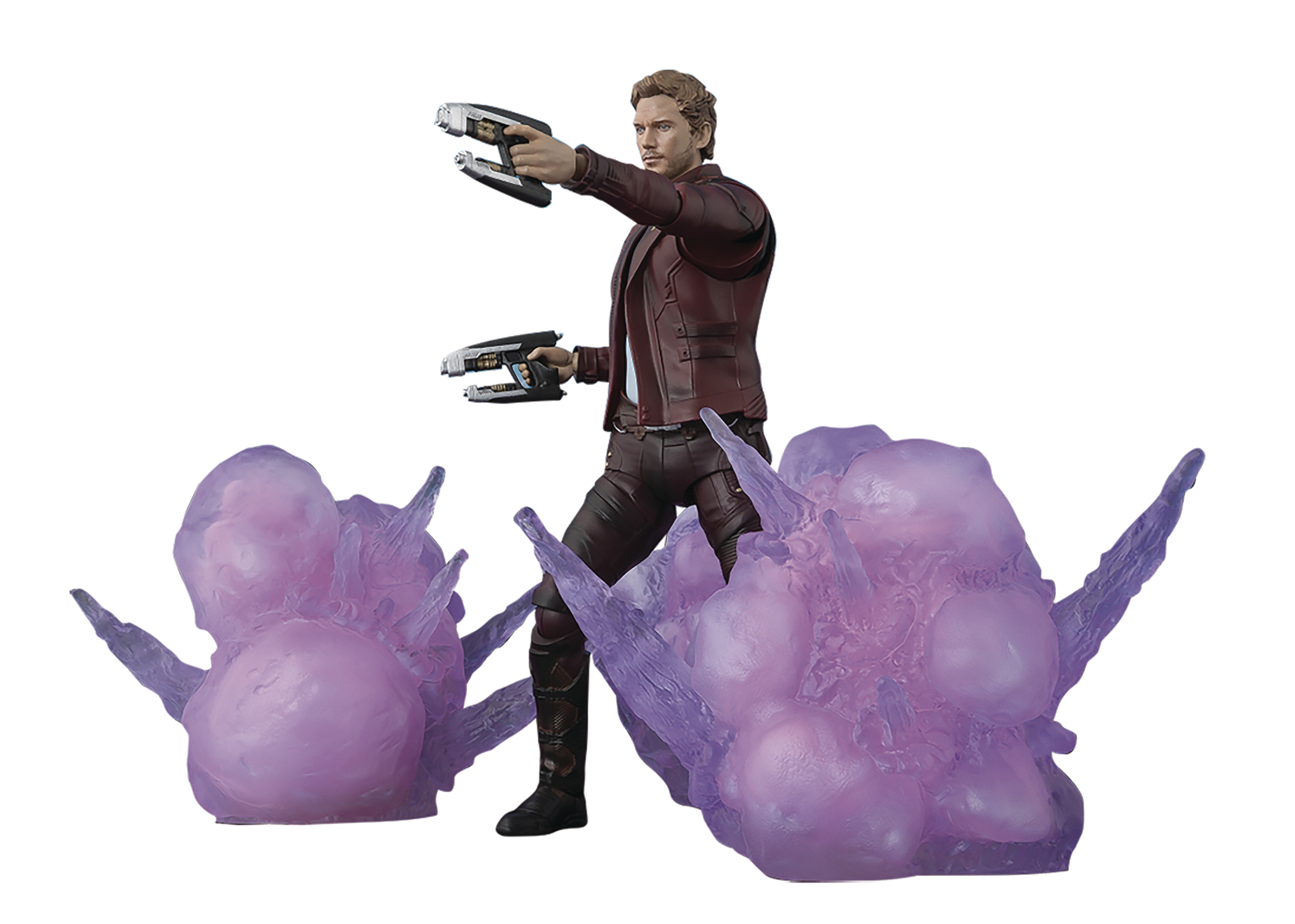 GOTG2 STAR-LORD W/ EXPLOSION S.H.FIGUARTS