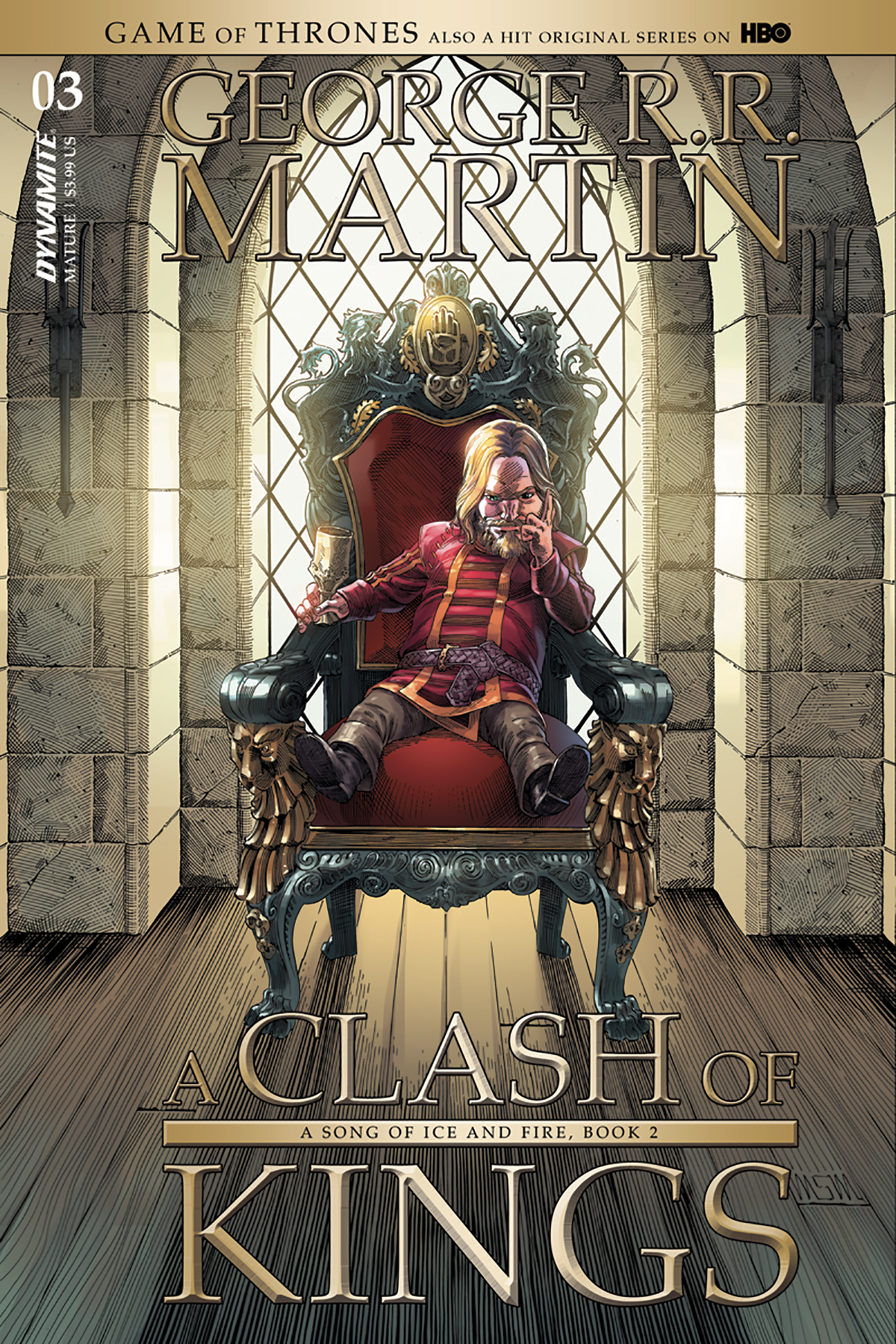 GAME OF THRONES CLASH OF KINGS #3 CVR A MILLER