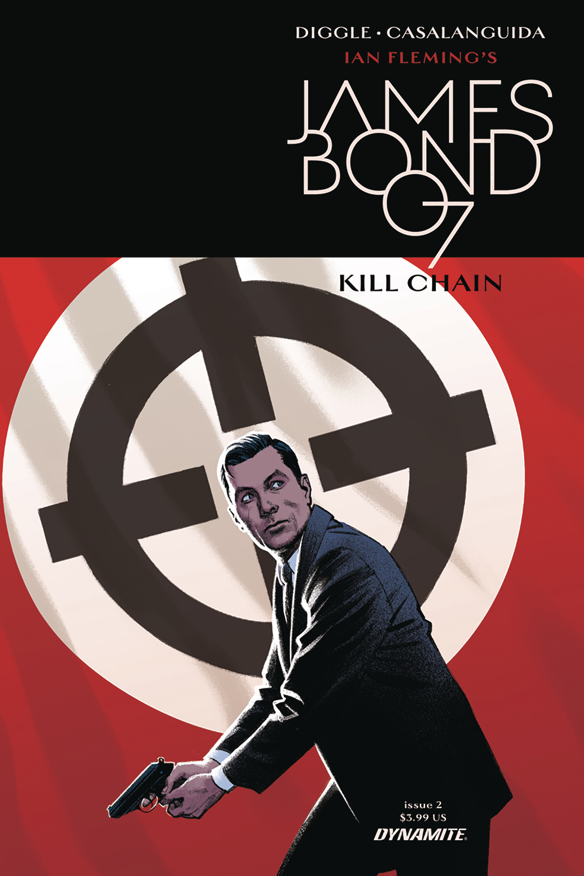 JAMES BOND KILL CHAIN #2 (OF 6) CVR A SMALLWOOD