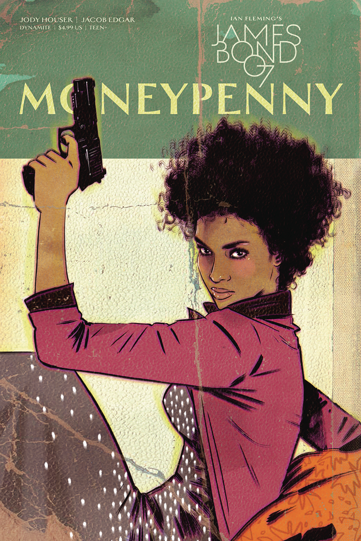 JAMES BOND MONEYPENNY ONE SHOT