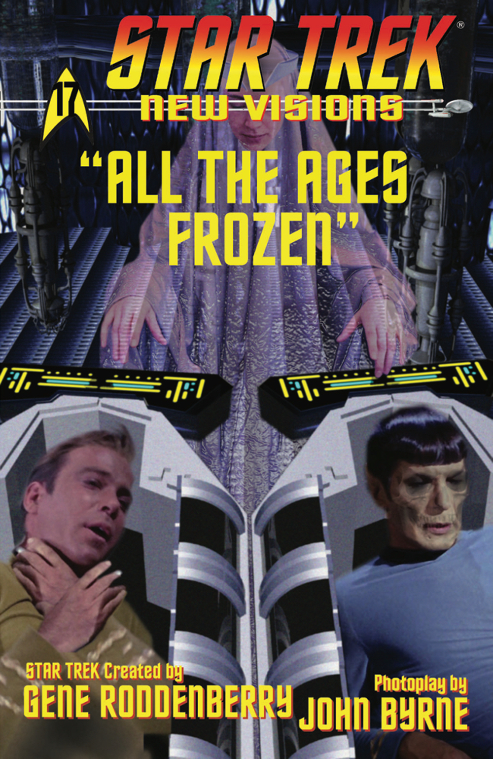 STAR TREK NEW VISIONS ALL THE AGES FROZEN