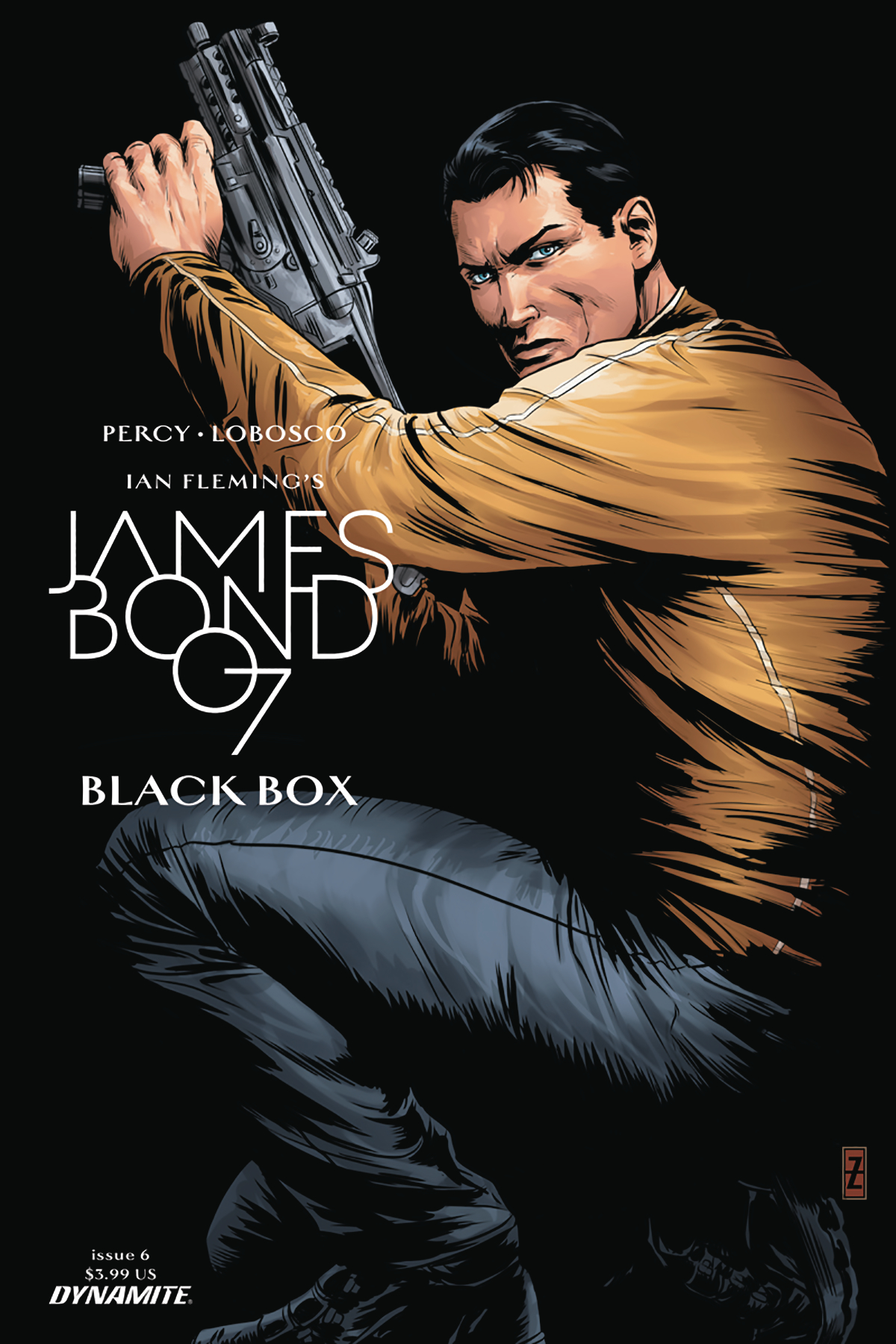 JAMES BOND #6 CVR C ZIRCHER
