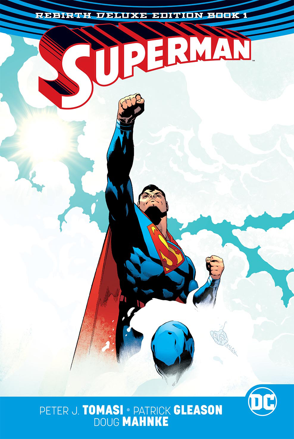 SUPERMAN REBIRTH DLX COLL HC BOOK 01