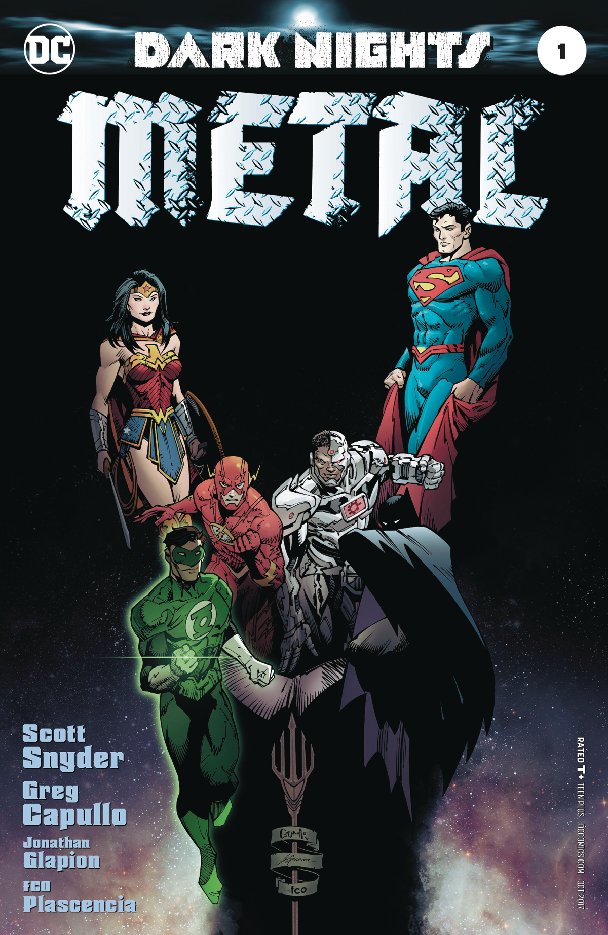 Image result for dark knight metal #1
