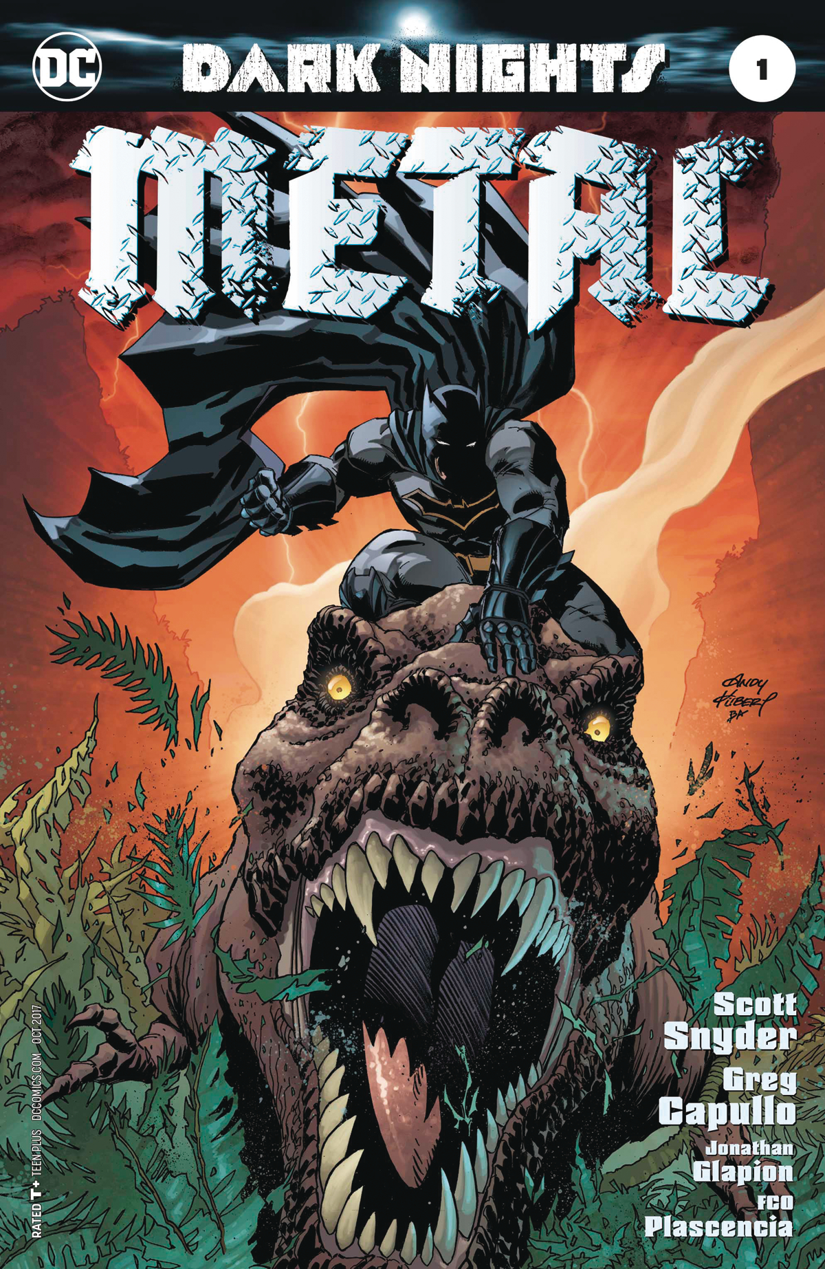DARK NIGHTS METAL #1 (OF 6) KUBERT VAR ED