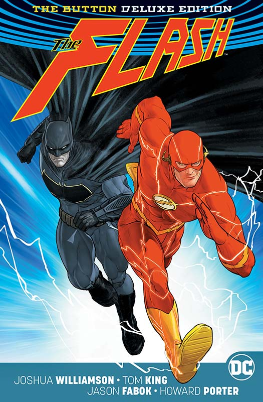 BATMAN FLASH THE BUTTON DELUXE ED HC INTL ED