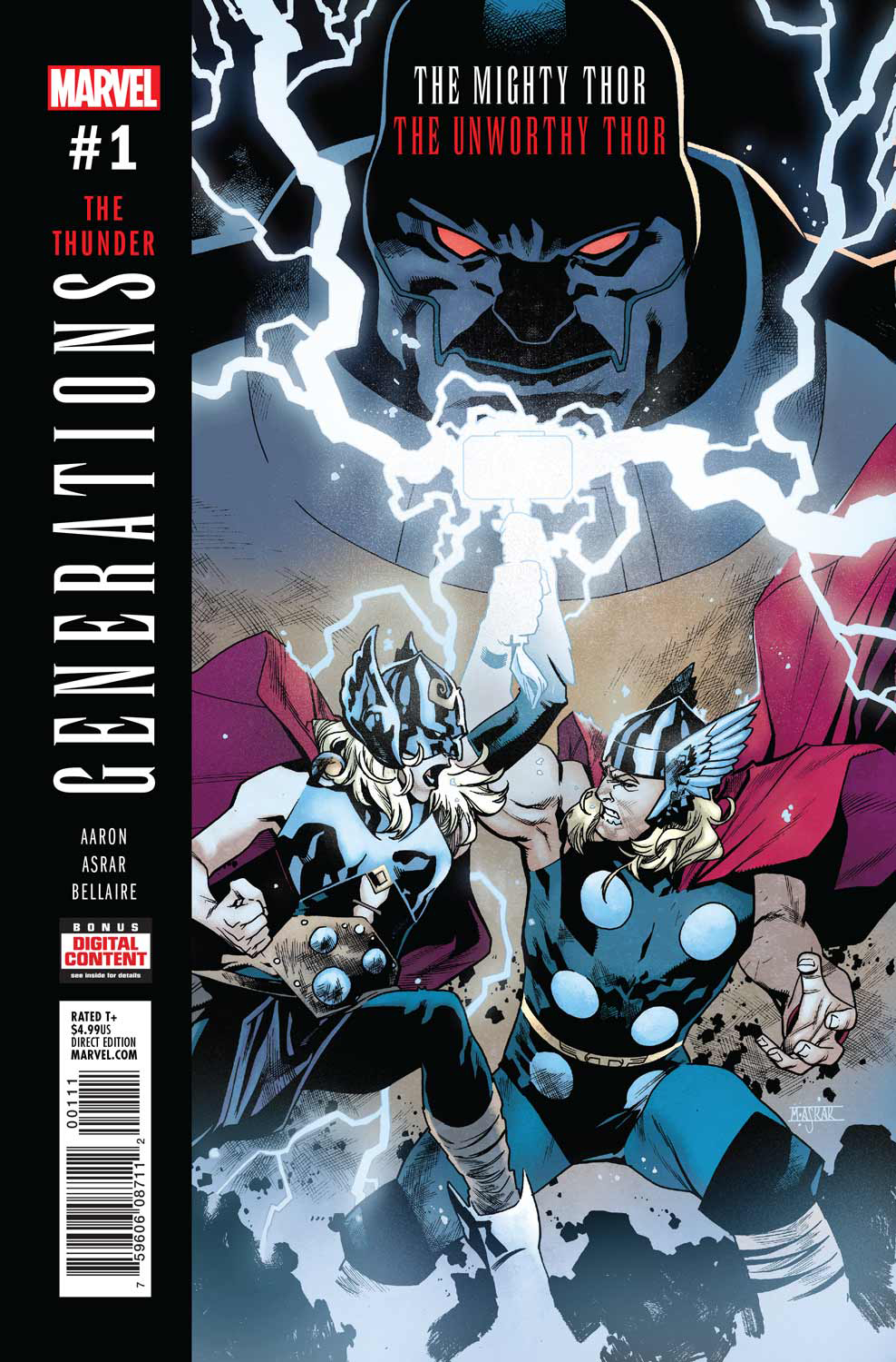 GENERATIONS UNWORTHY THOR & MIGHTY THOR #1