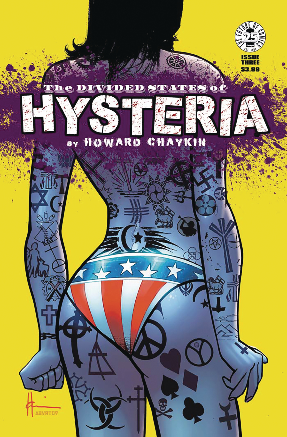 DIVIDED STATES OF HYSTERIA #3