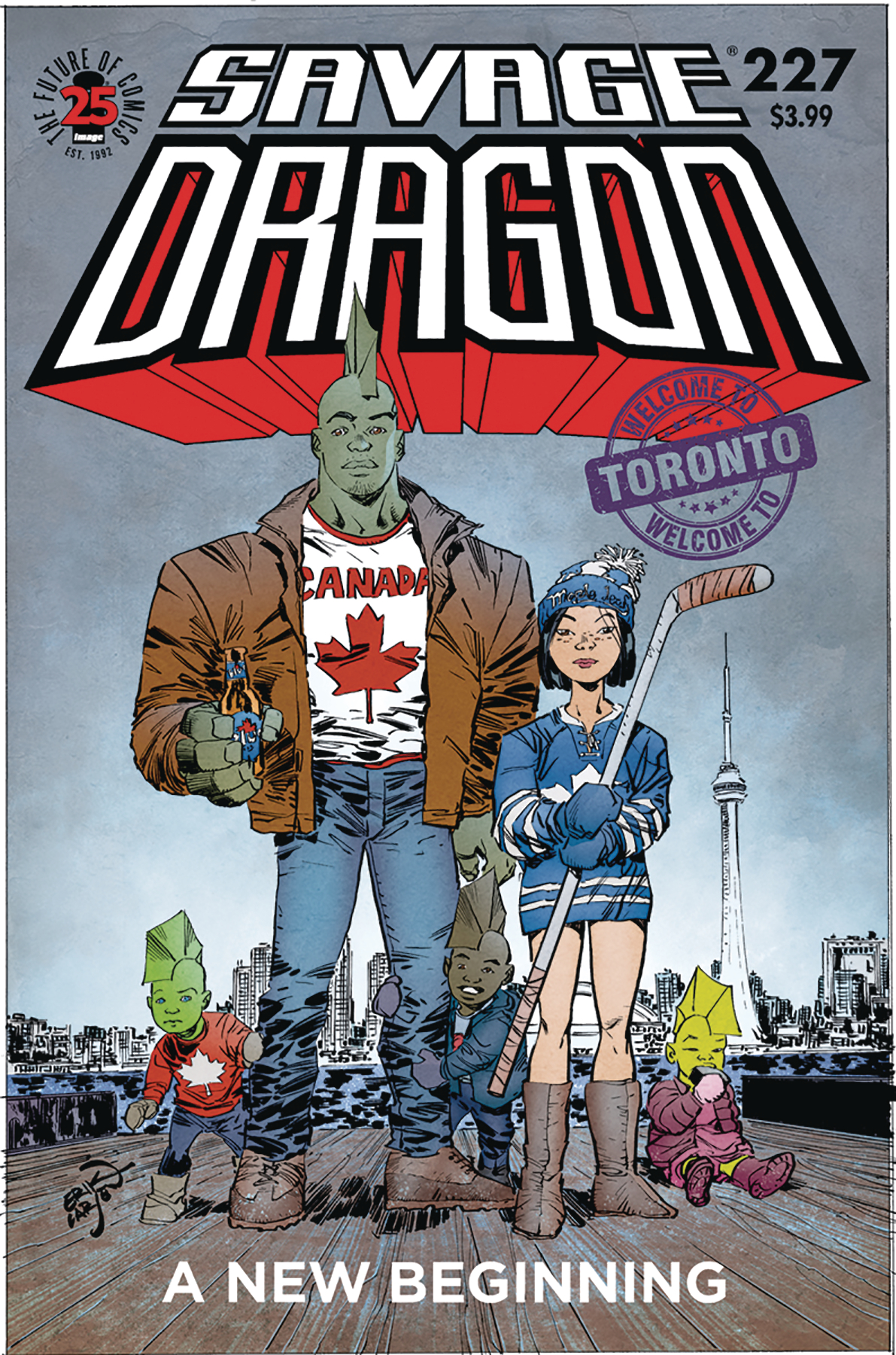 SAVAGE DRAGON #227 (RES) (MR)