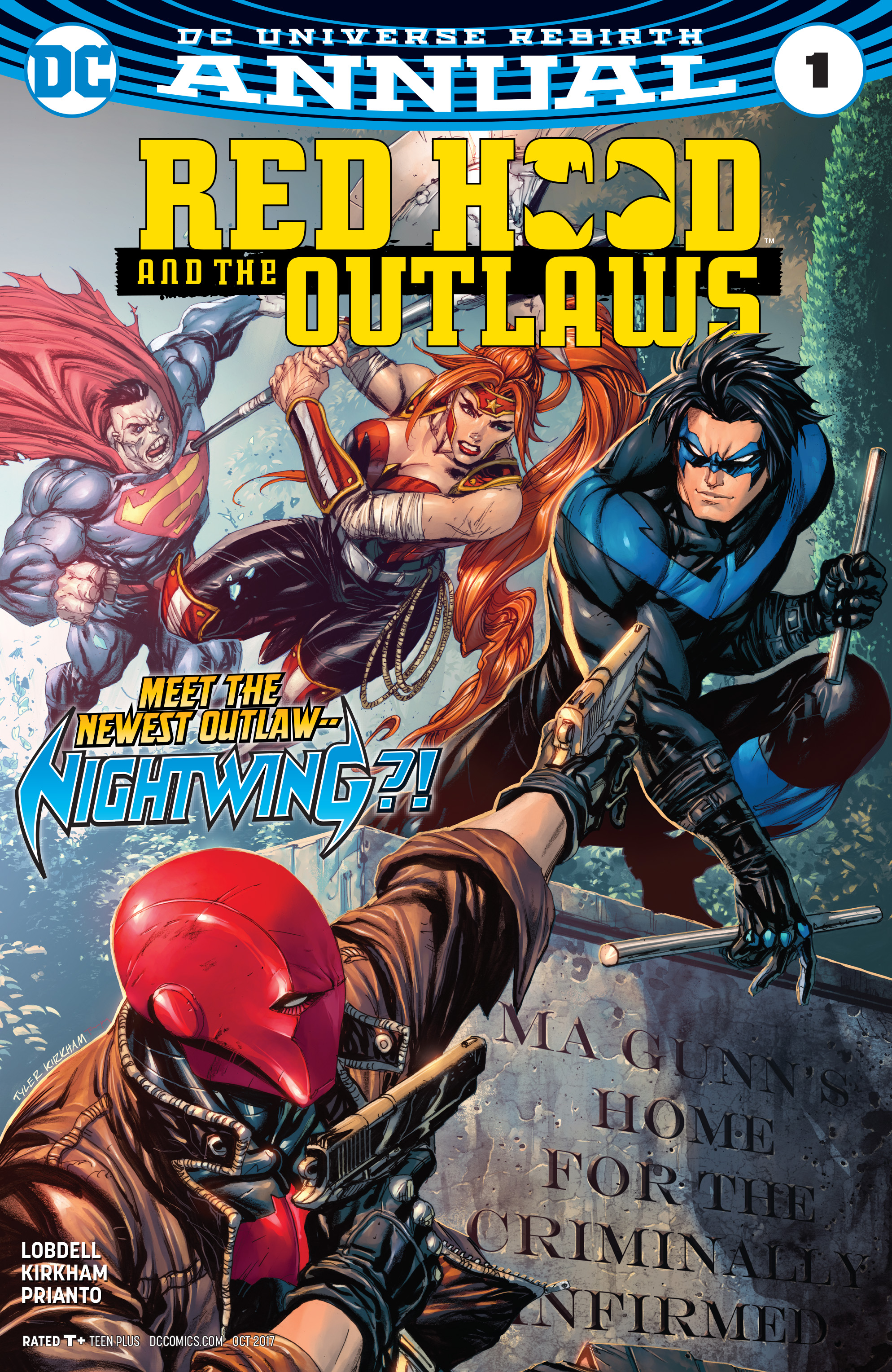 Image result for red hood and the outlaws annual 1