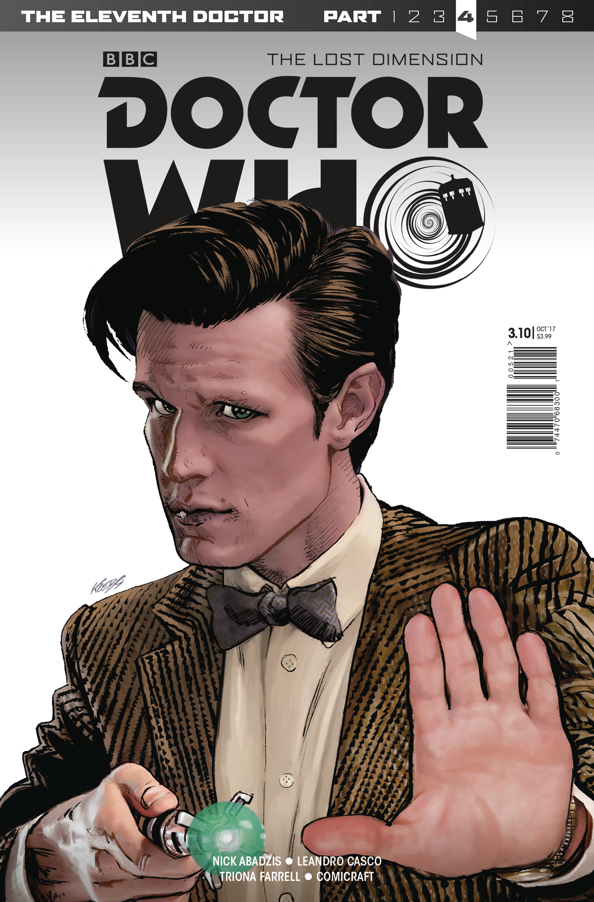 DOCTOR WHO 11TH YEAR THREE #10 CVR A KLEBS JR