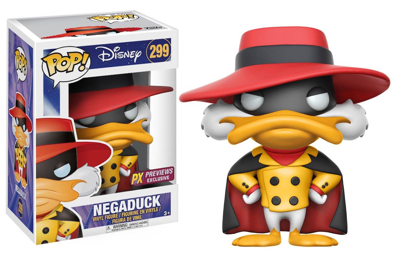 Apr178034 Pop Darkwing Duck Nega Duck Px Vinyl Figure