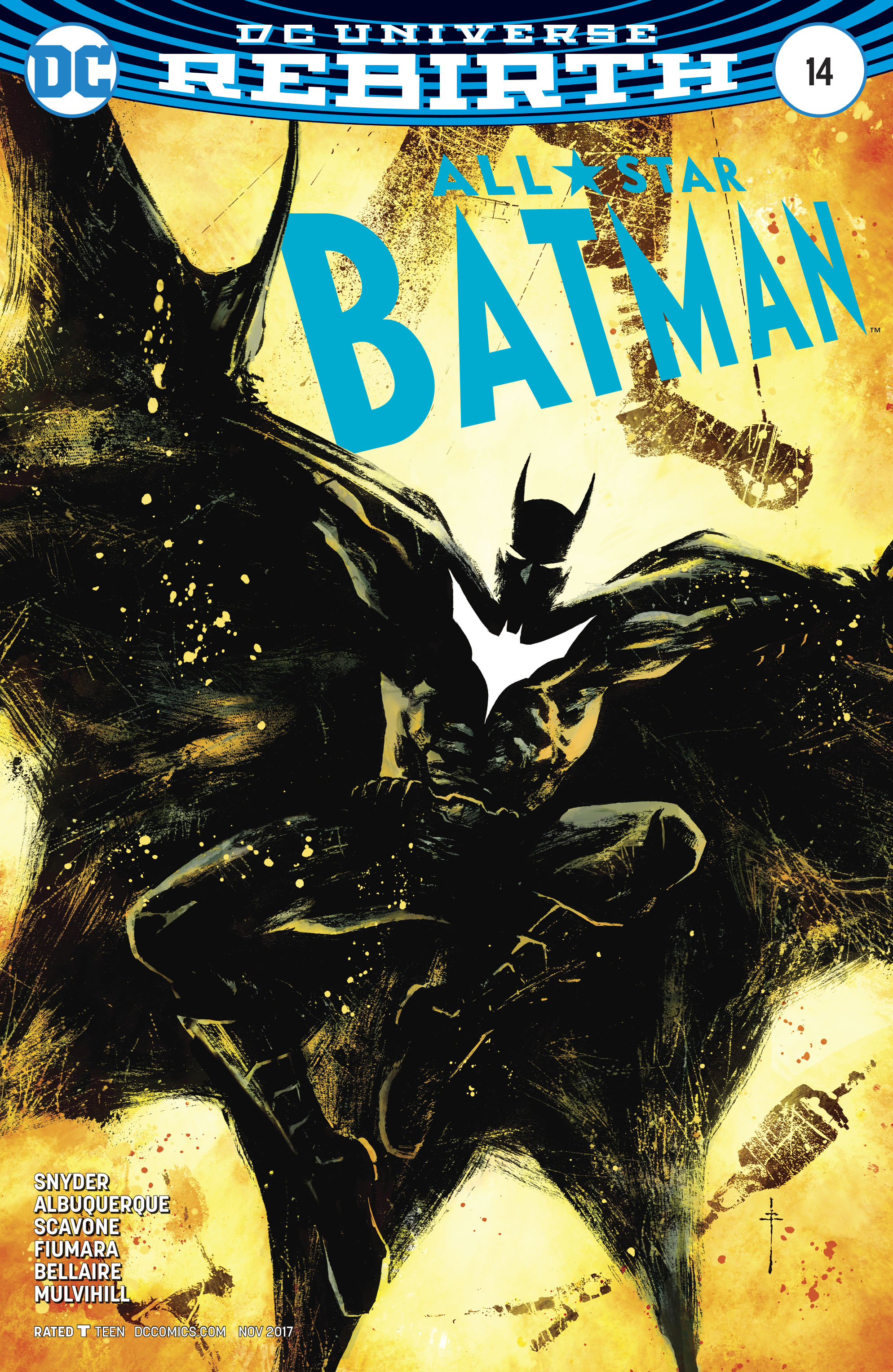 ALL STAR BATMAN #14 FIUMARA VAR ED