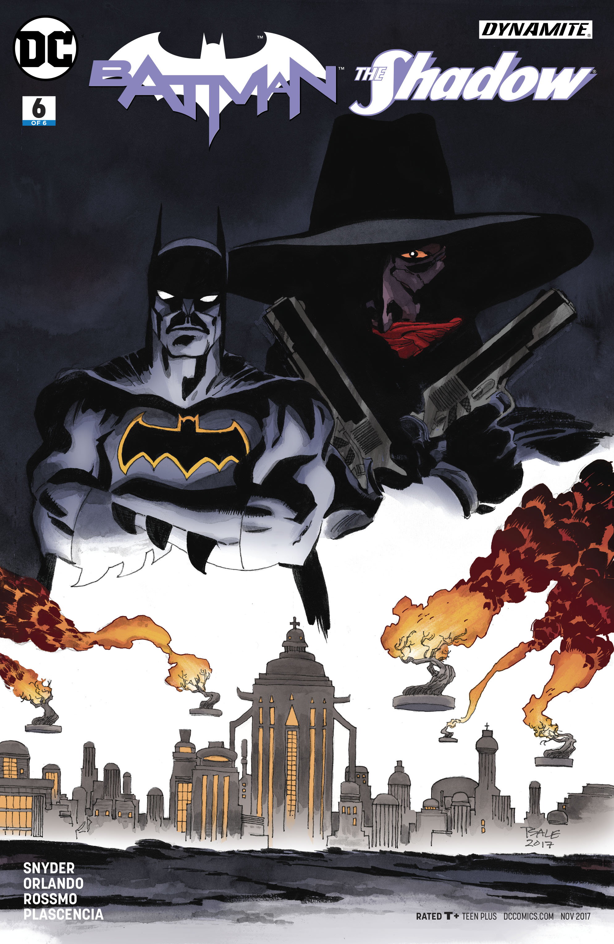 BATMAN THE SHADOW #6 (OF 6) SALE VAR ED
