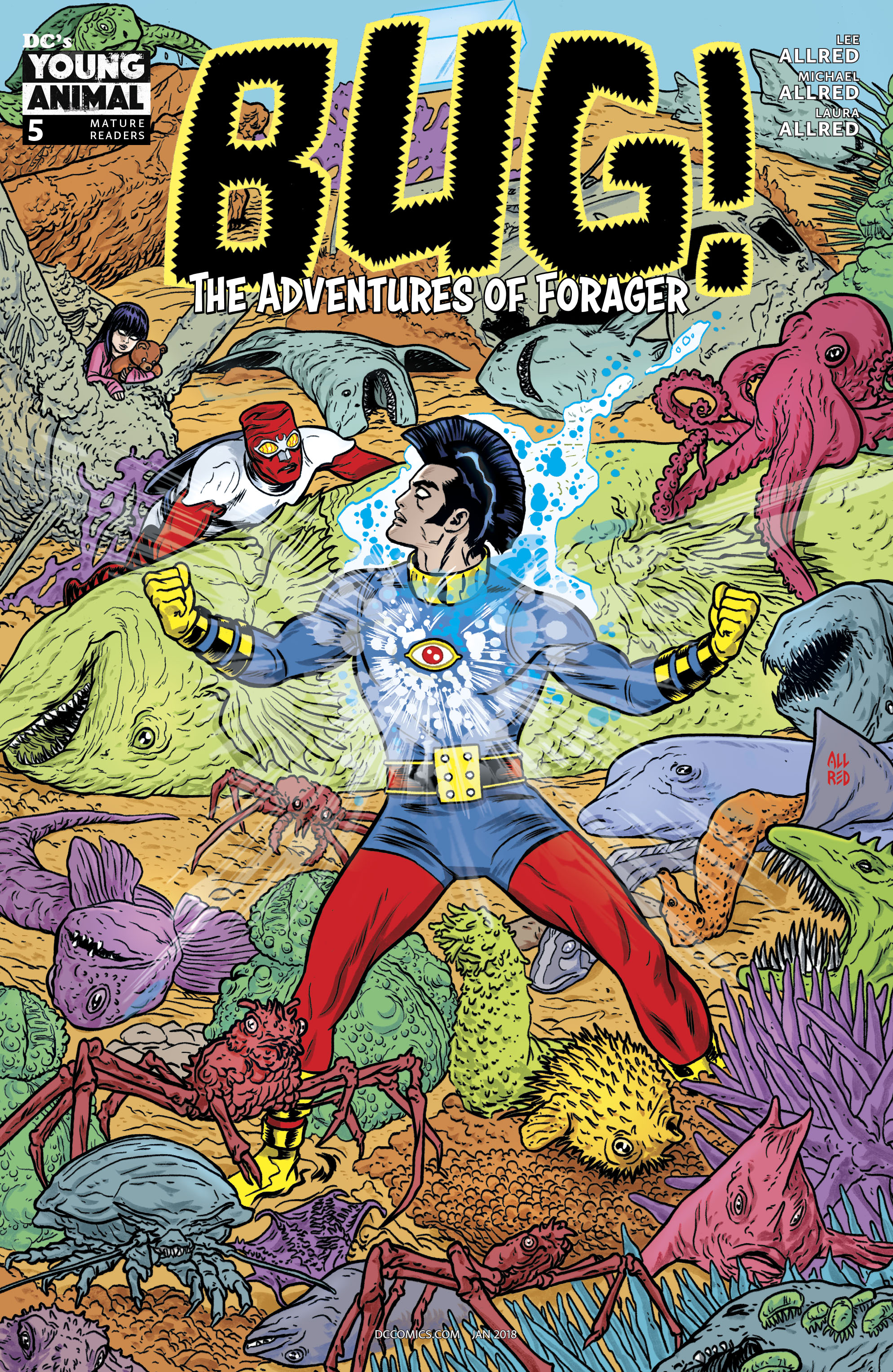 BUG THE ADVENTURES OF FORAGER #5 (OF 6) (RES) (MR)