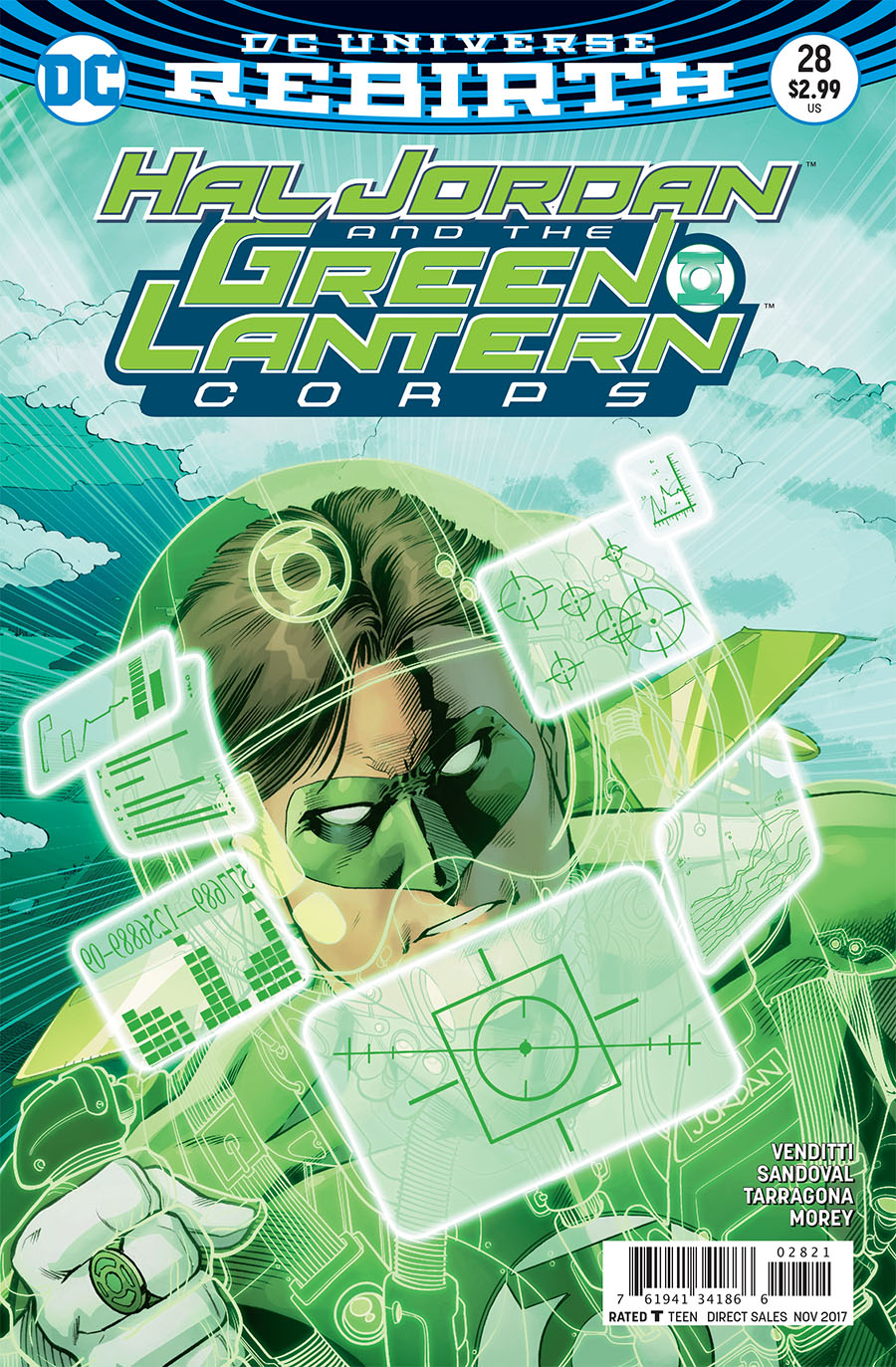 HAL JORDAN AND THE GREEN LANTERN CORPS #28 VAR ED