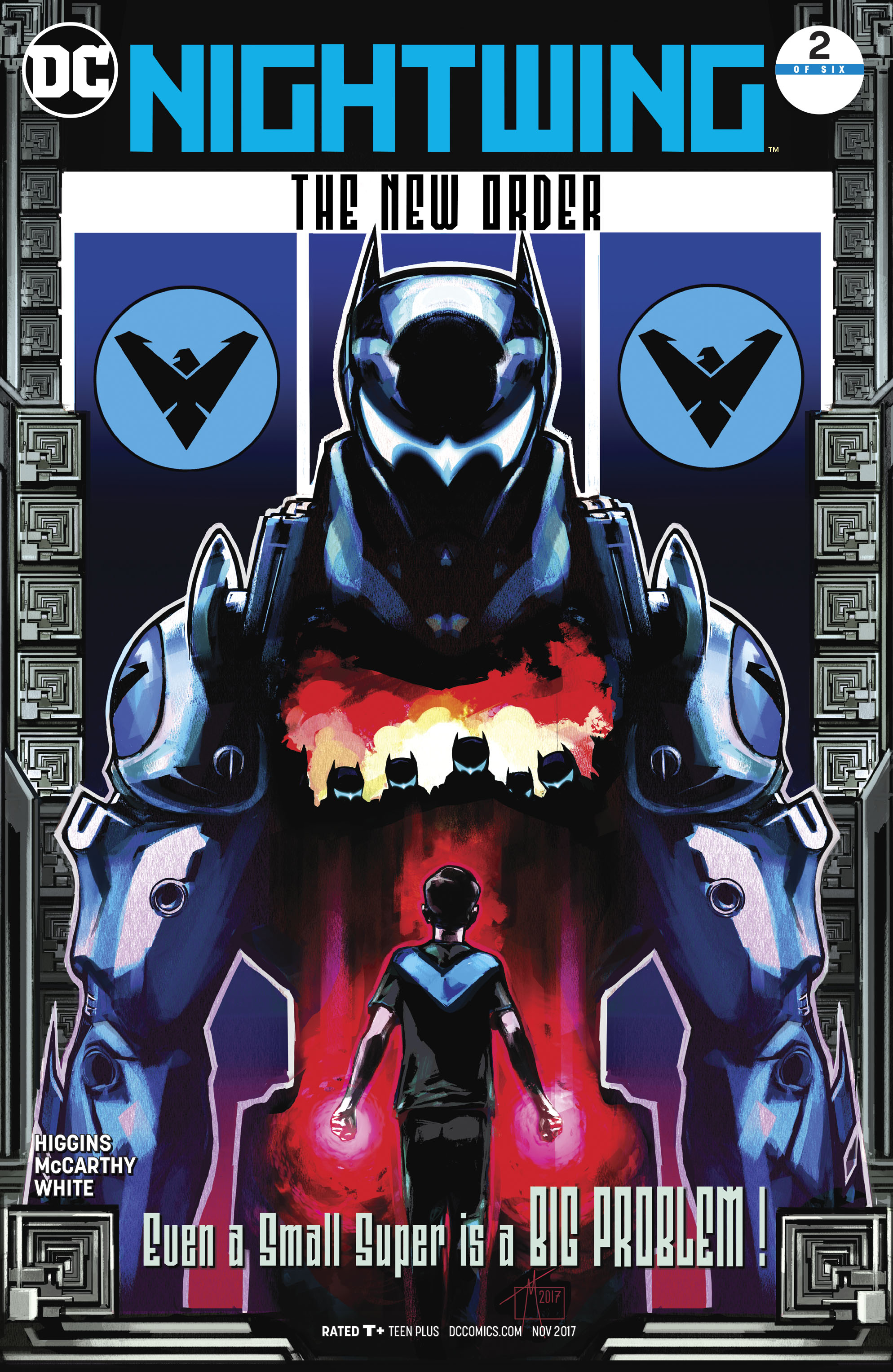 NIGHTWING THE NEW ORDER #2 (OF 6)