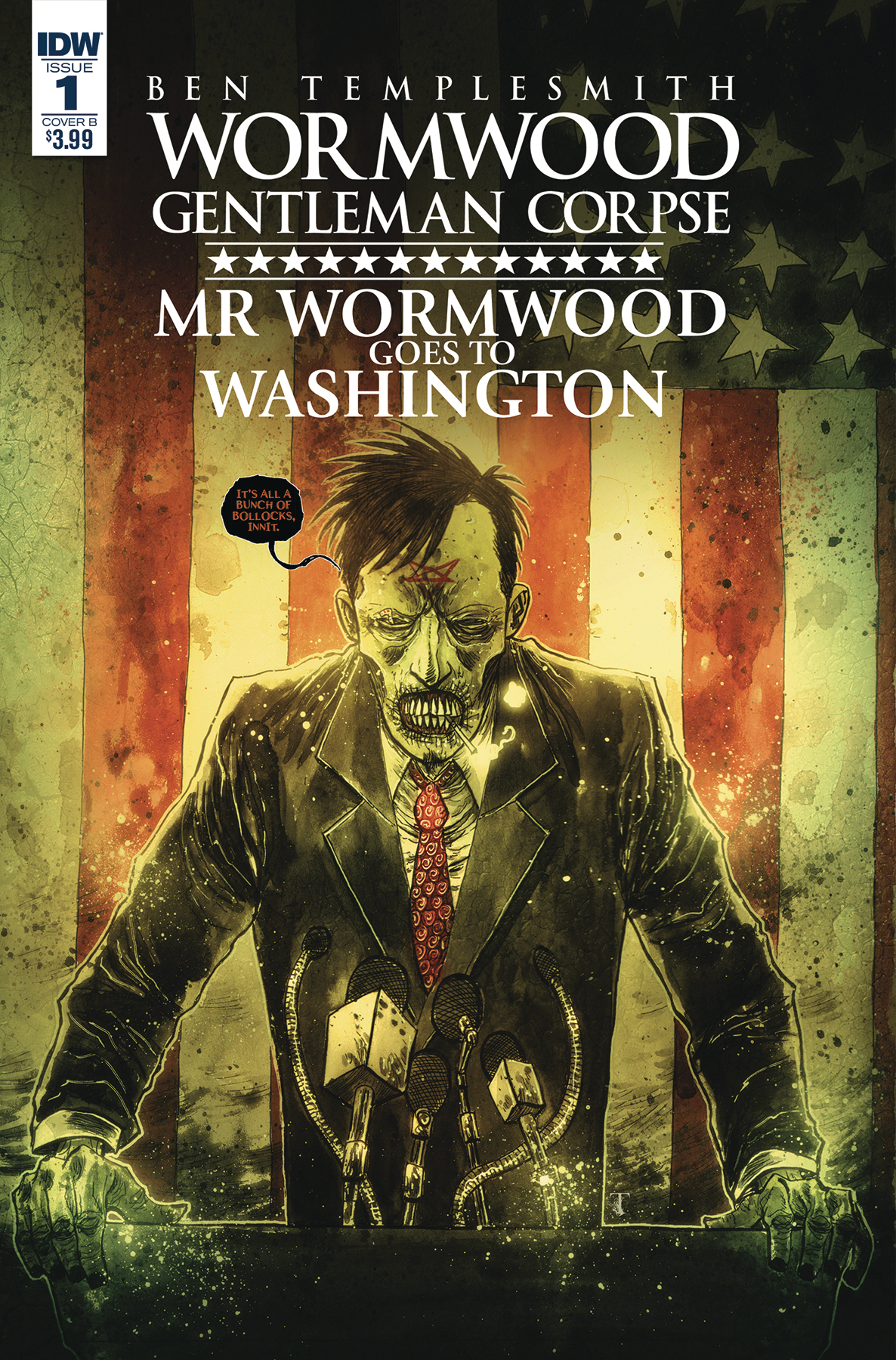 WORMWOOD GOES TO WASHINGTON #1