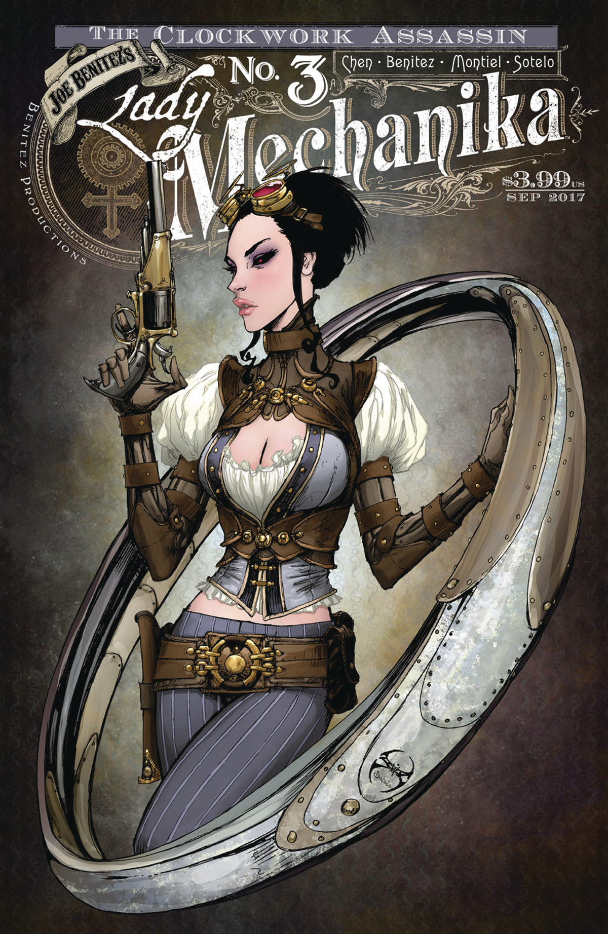LADY MECHANIKA CLOCKWORK ASSASSIN #3 (OF 3)
