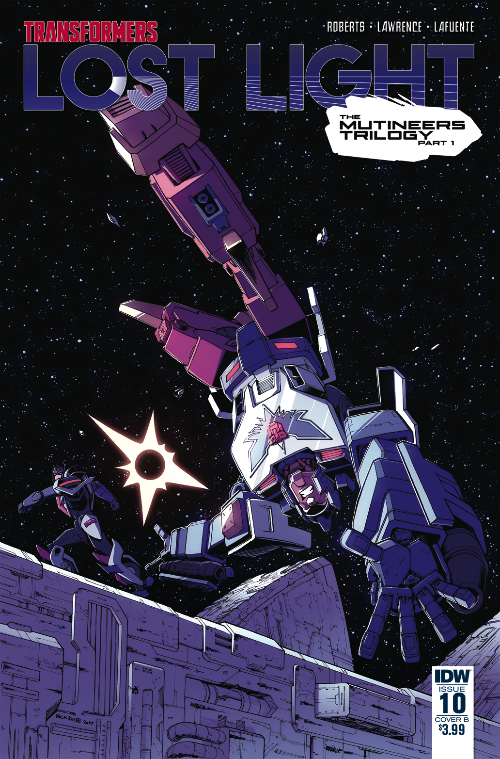 TRANSFORMERS LOST LIGHT #10 CVR B ROCHE