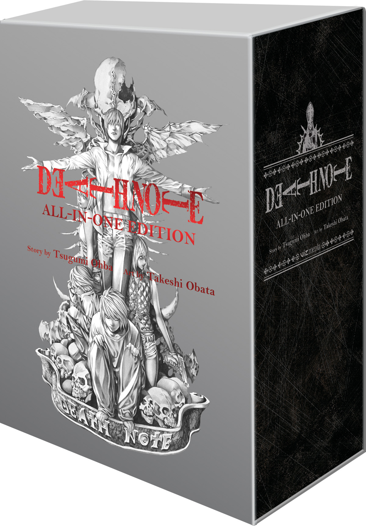 DEATH NOTE SLIPCASE GN ALL-IN-ONE EDITION