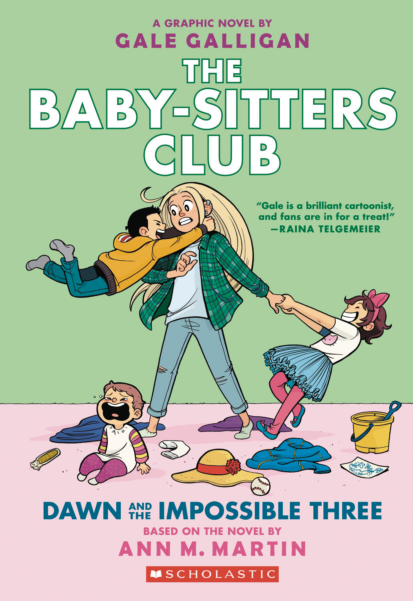 BABY SITTERS CLUB COLOR ED HC GN VOL 05 DAWN IMPOSSIBLE 3