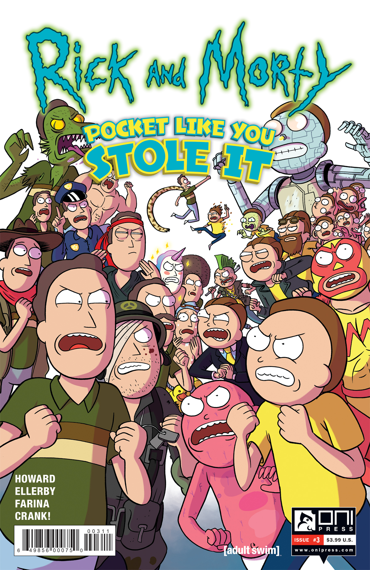 RICK & MORTY POCKET LIKE YOU STOLE IT #3