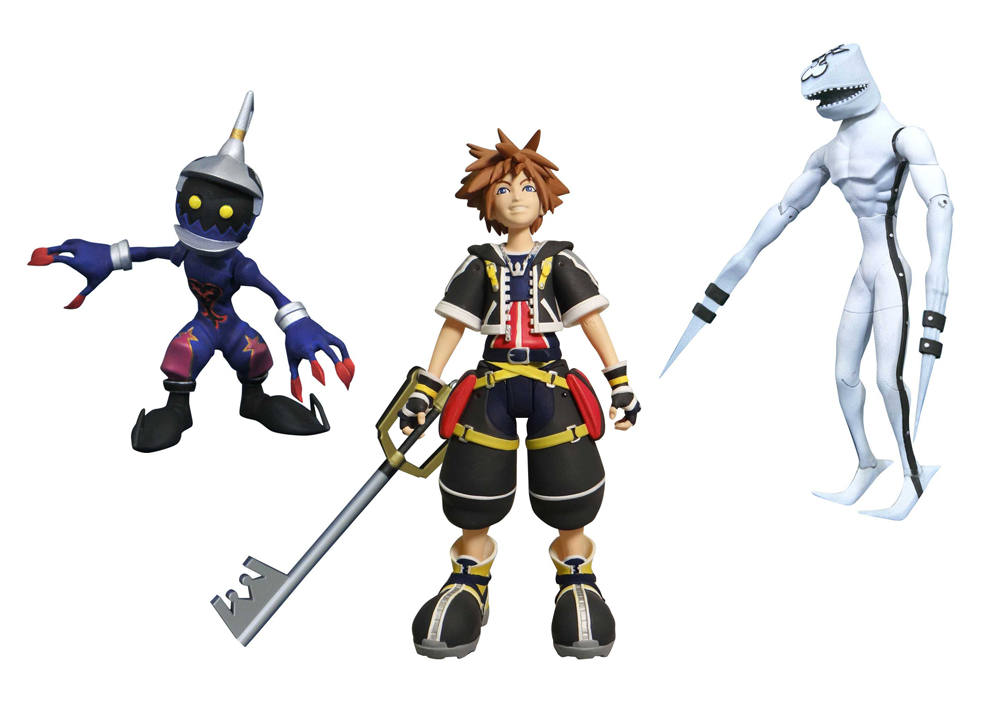 KINGDOM HEARTS SELECT SERIES 1 SORA DUSK & SOLDIER AF