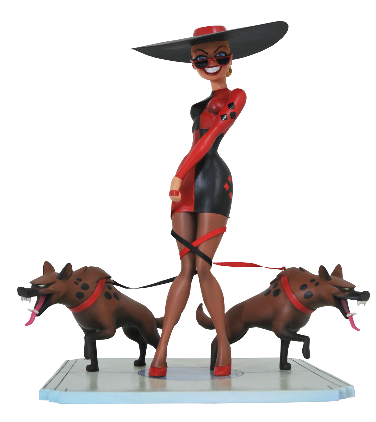 BATMAN TAS PREMIERE HARLEYS HOLIDAY HARLEY QUINN STATUE (RES
