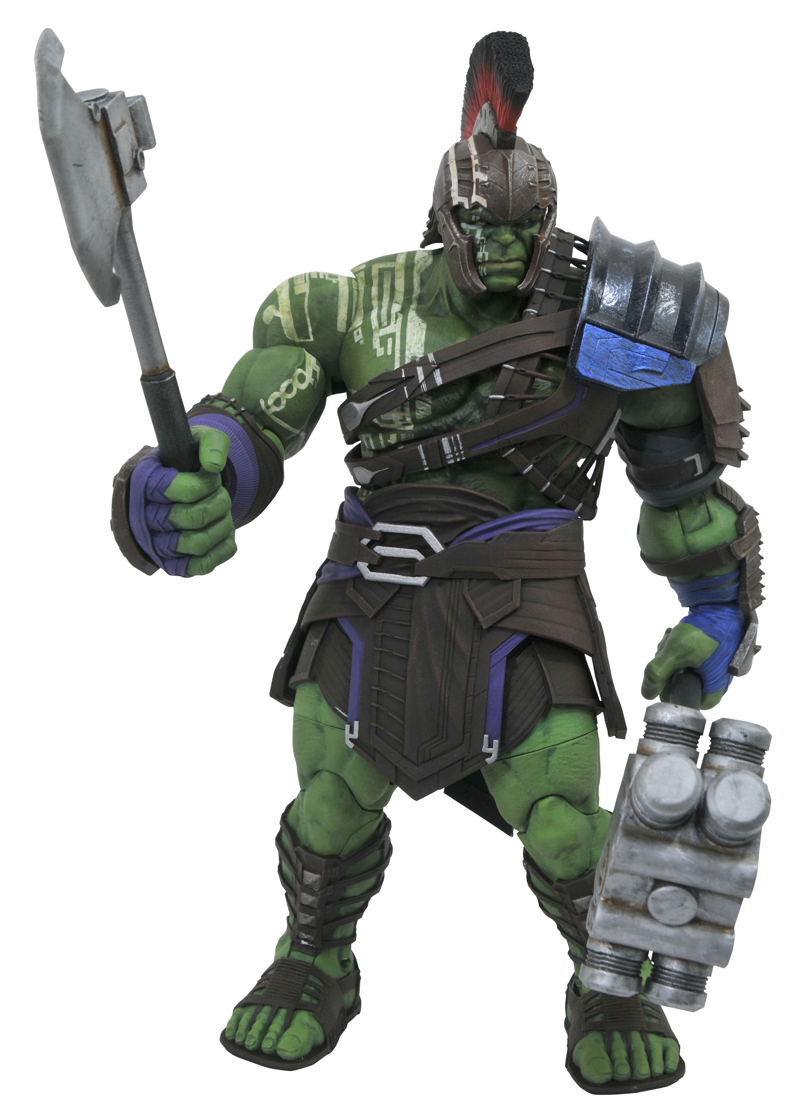 Jul172803 Marvel Select Thor Ragnarok Gladiator Hulk Af