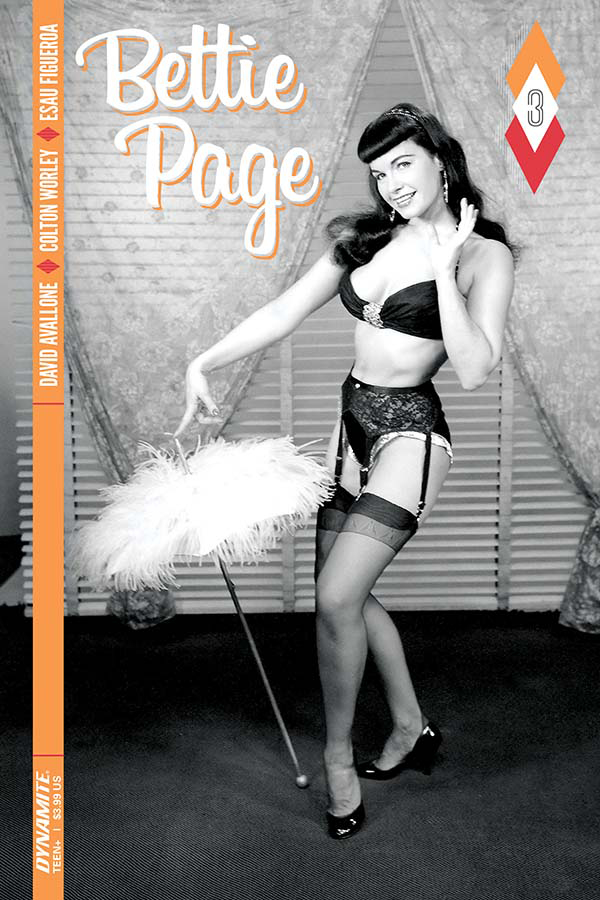BETTIE PAGE #3 CVR C PHOTO