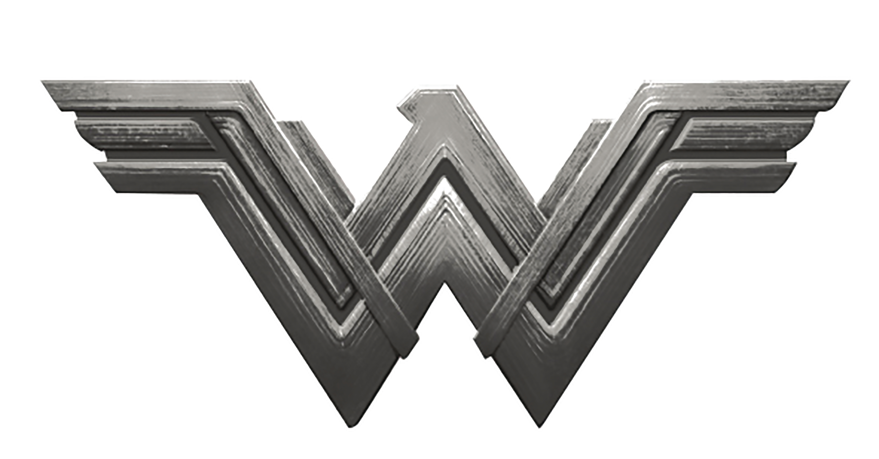 Apr178684 Wonder Woman Movie Logo Deluxe Pewter Lapel Pin