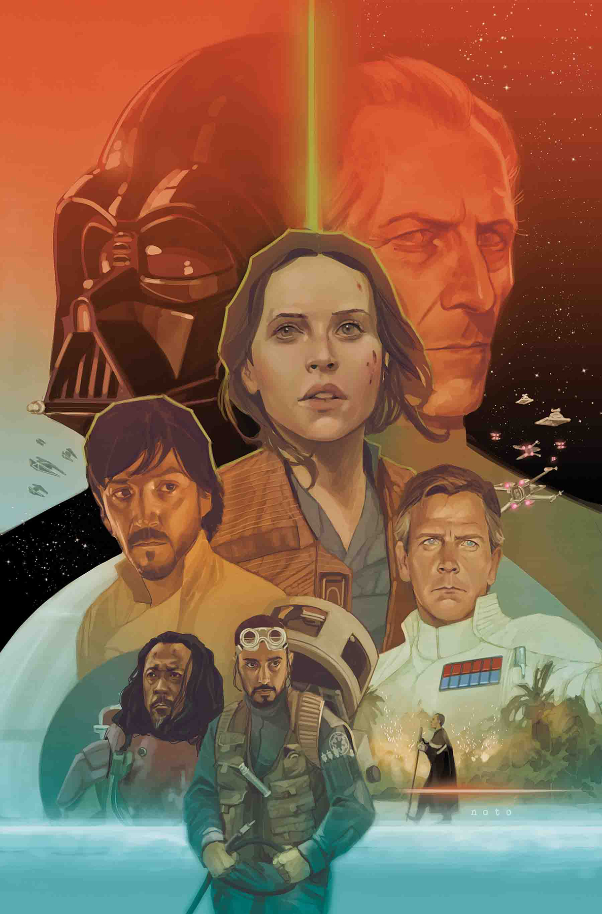 STAR WARS ROGUE ONE ADAPTATION #6