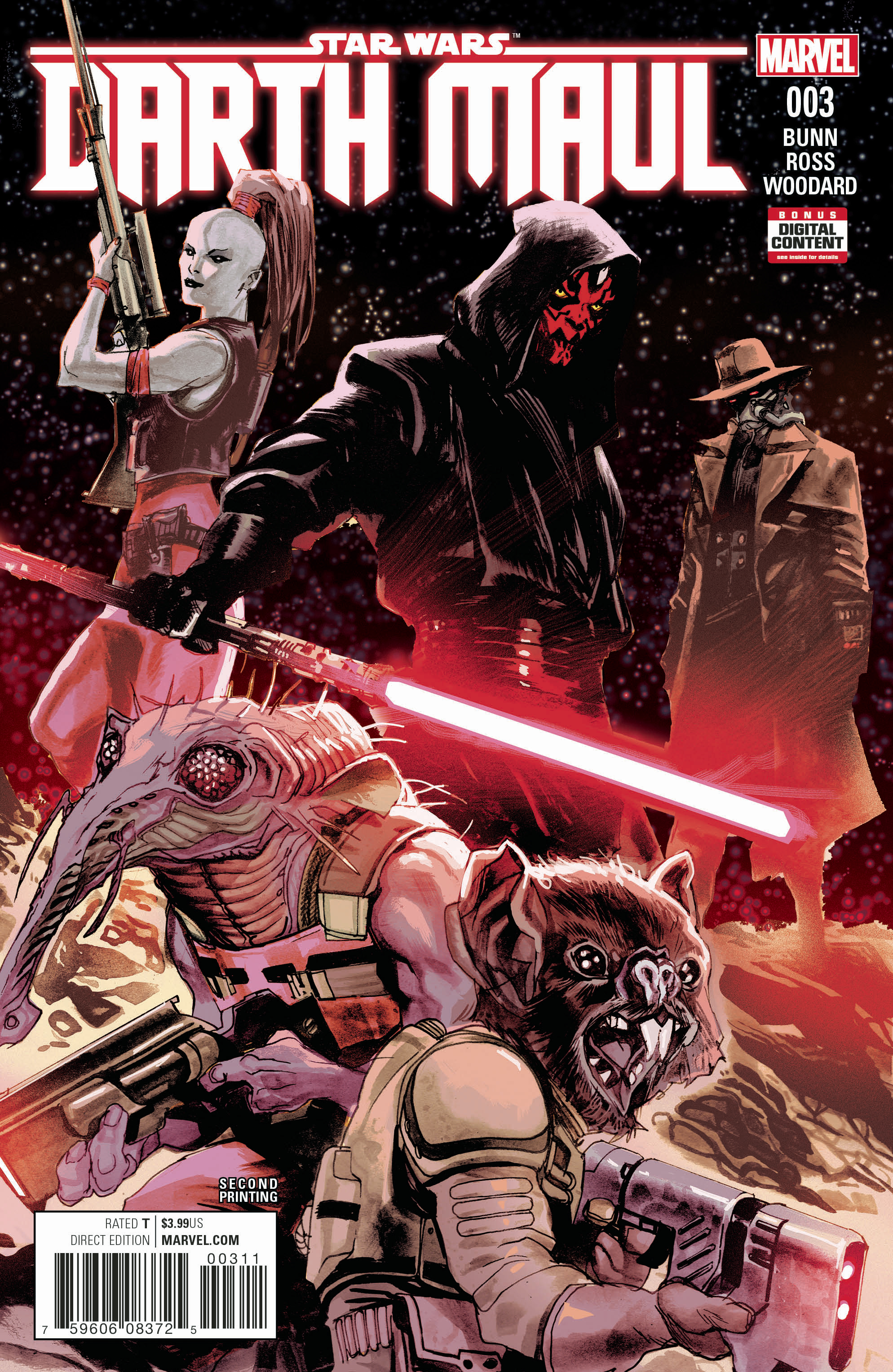 STAR WARS DARTH MAUL #3