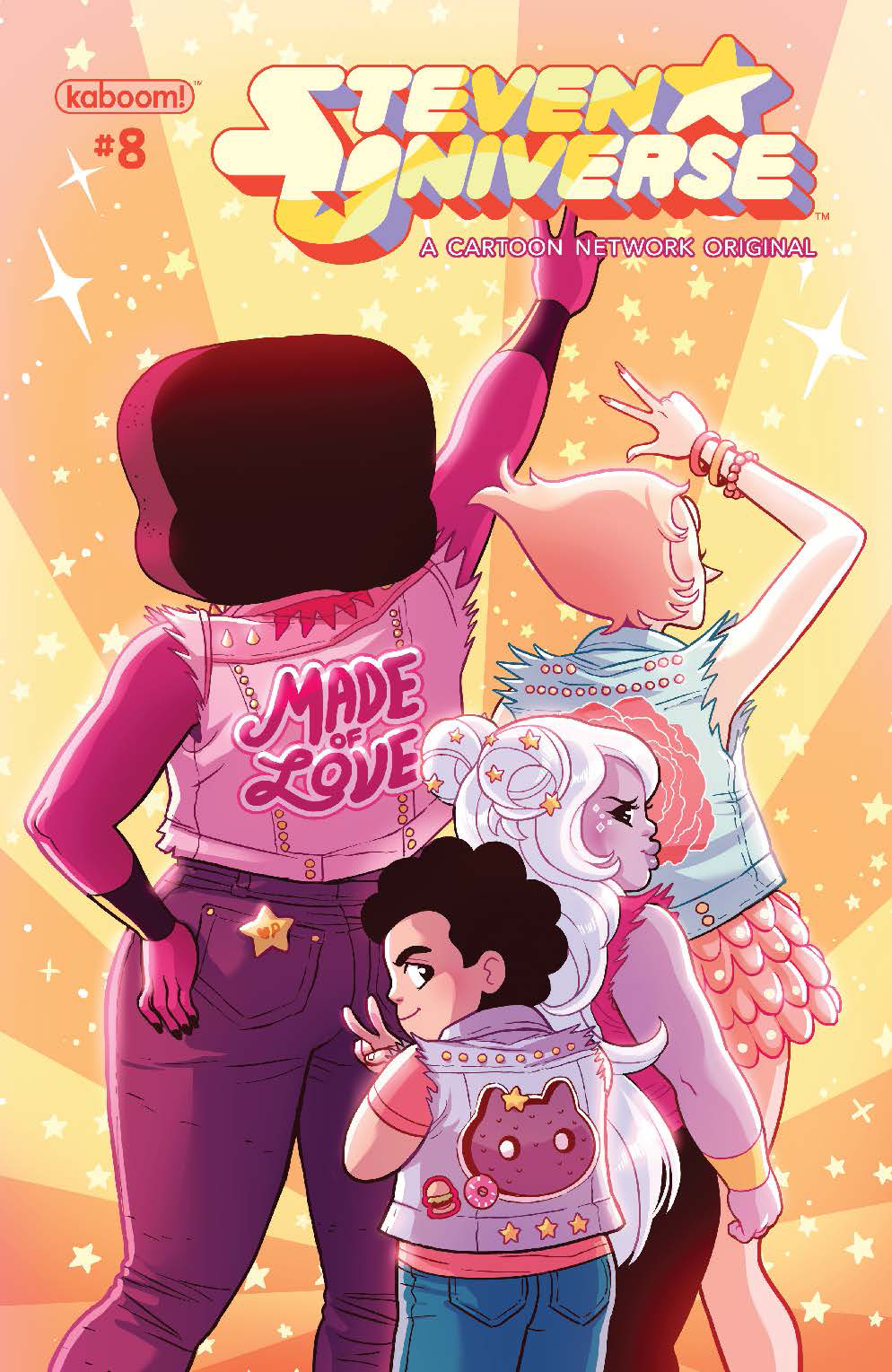 STEVEN UNIVERSE ONGOING #8 SUBSCRIPTION GANUCHEAU VAR