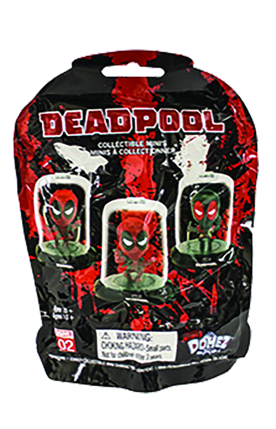 MARVEL DEADPOOL DOMEZ SER 1 FIGURES 24PC BMB DS