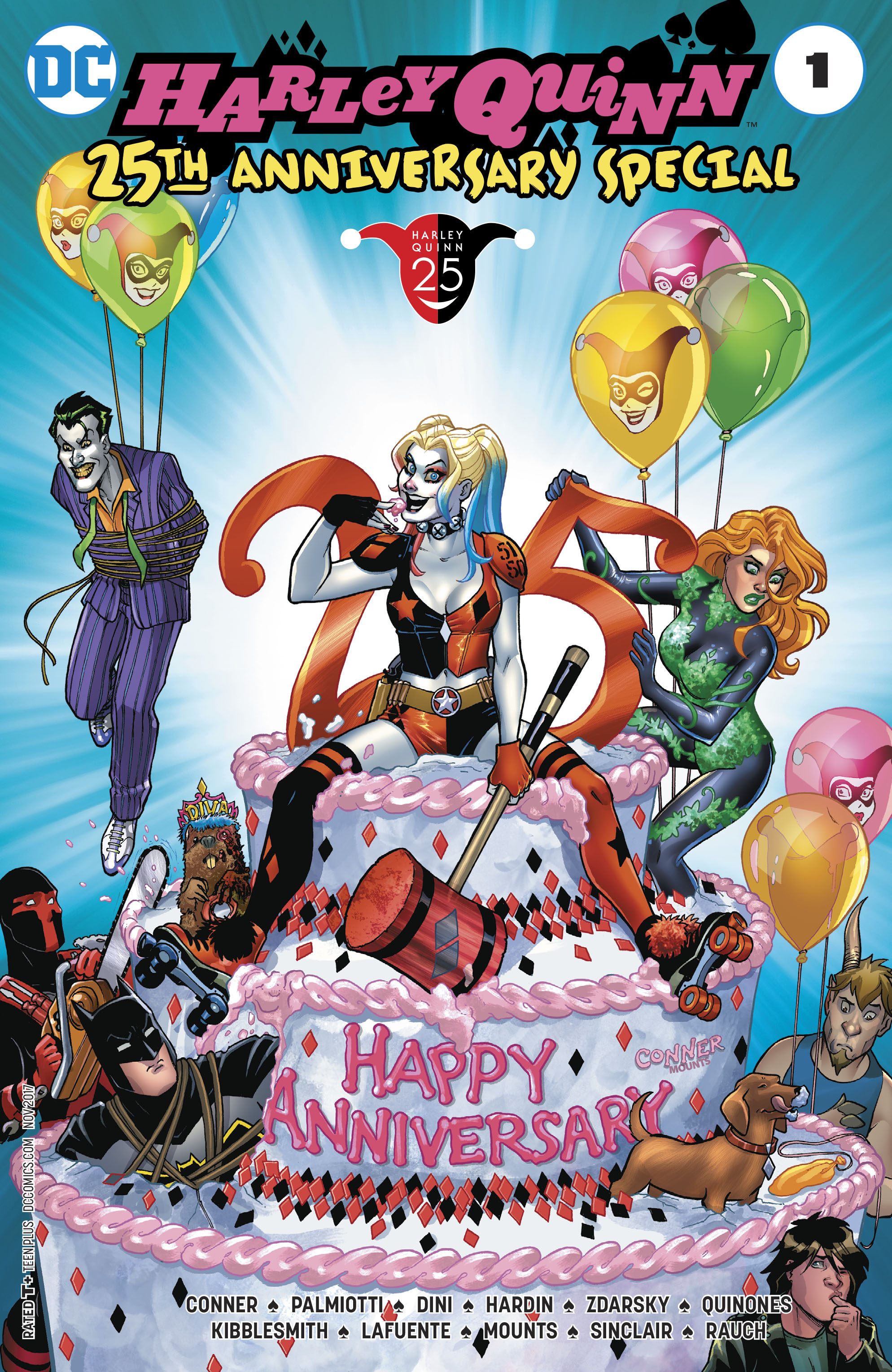 HARLEY QUINN 25TH ANNIVERSARY SPECIAL #1