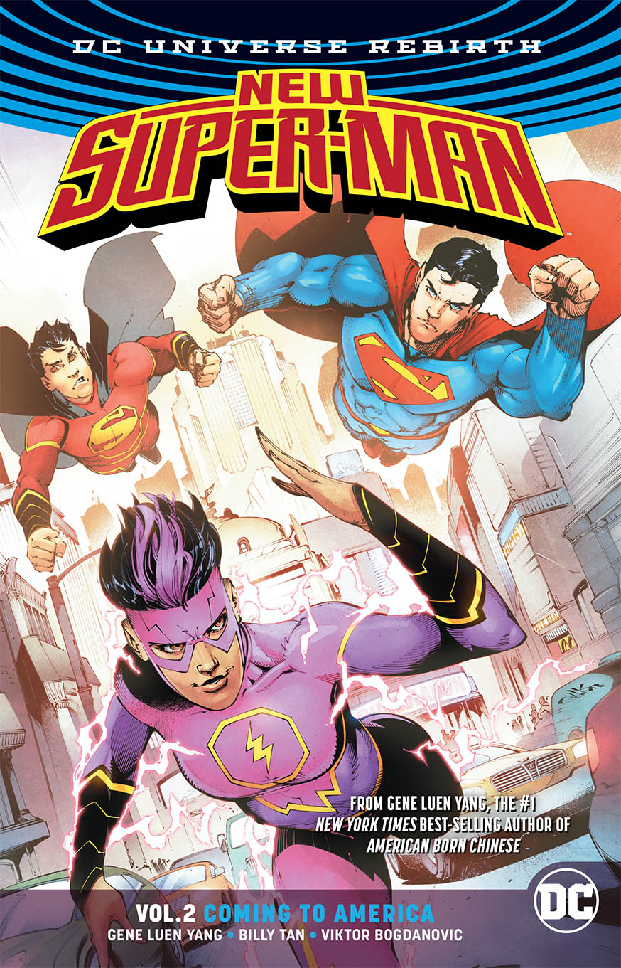 NEW SUPER MAN TP VOL 02 COMING TO AMERICA