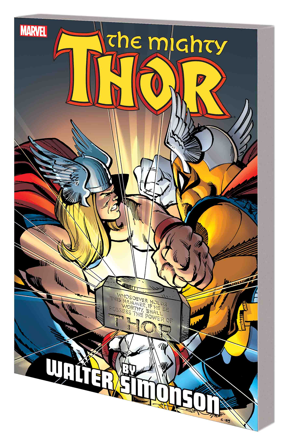 THOR BY WALTER SIMONSON TP VOL 01 NEW PTG