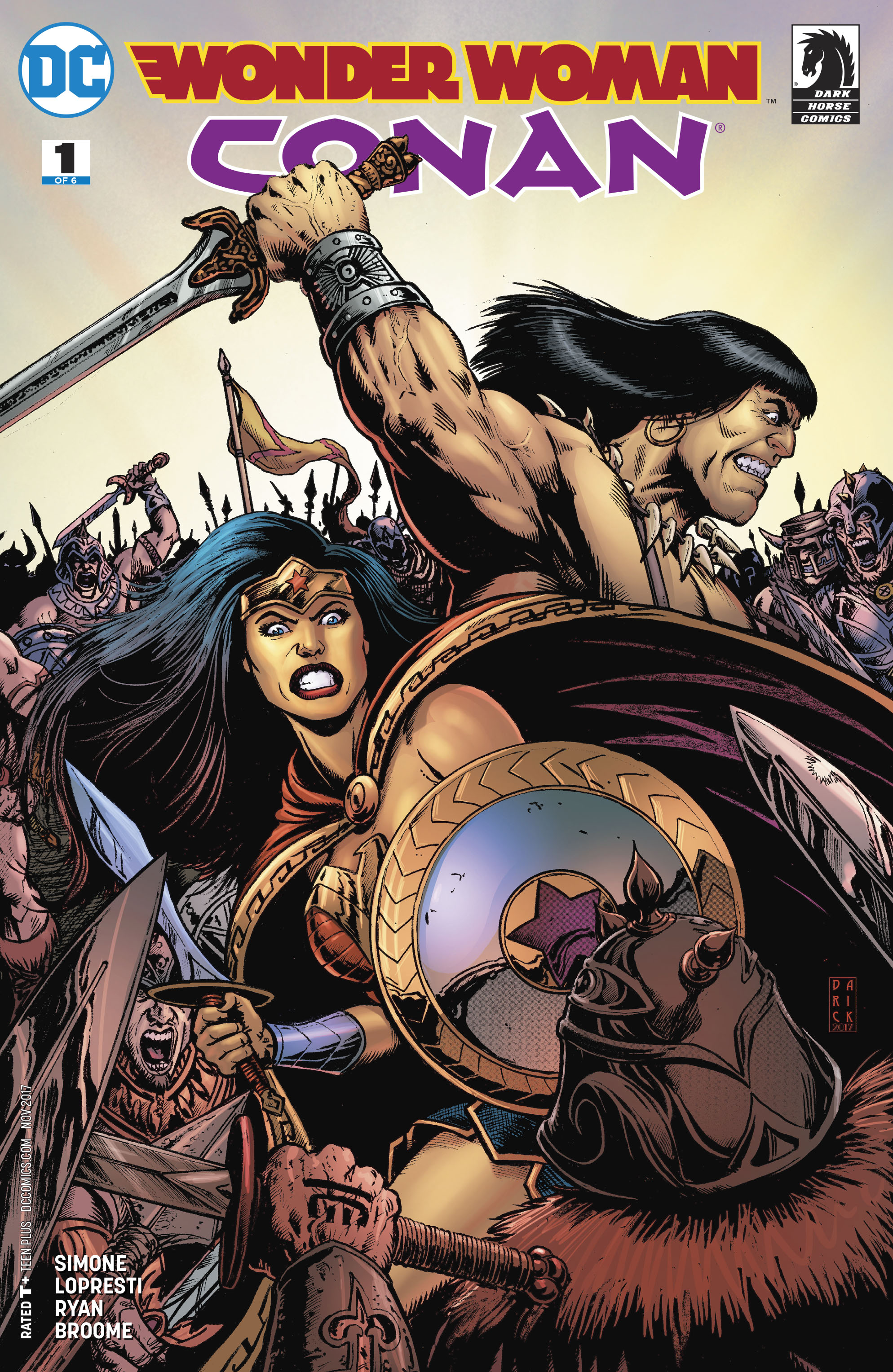 WONDER WOMAN CONAN #1 (OF 6)