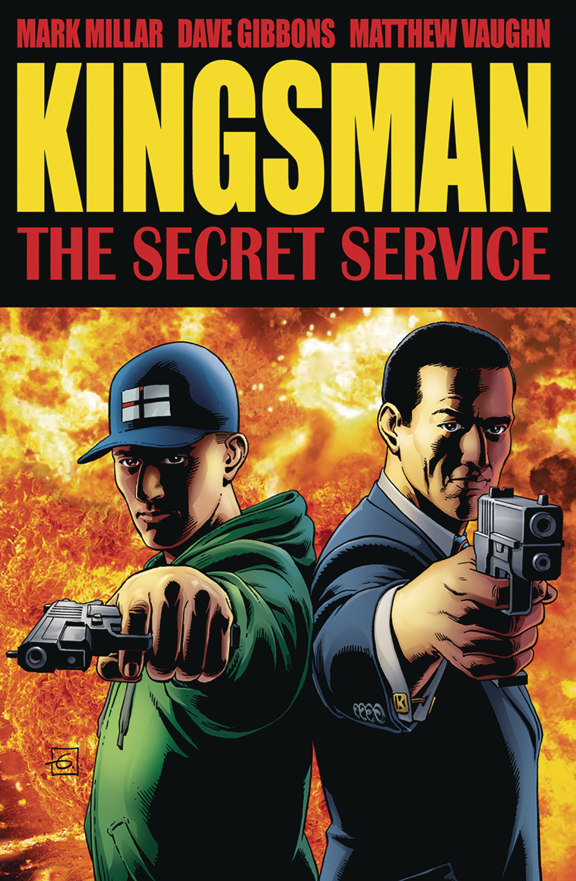 KINGSMAN SECRET SERVICE TP VOL 01 CVR A GIBBONS