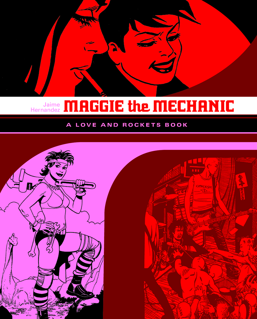 LOVE & ROCKETS LIBRARY JAIME GN VOL 01 MAGGIE MECHANIC (NEW