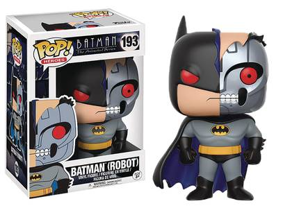 POP BATMAN ANIMATED ROBOT BATMAN VINYL FIGURE