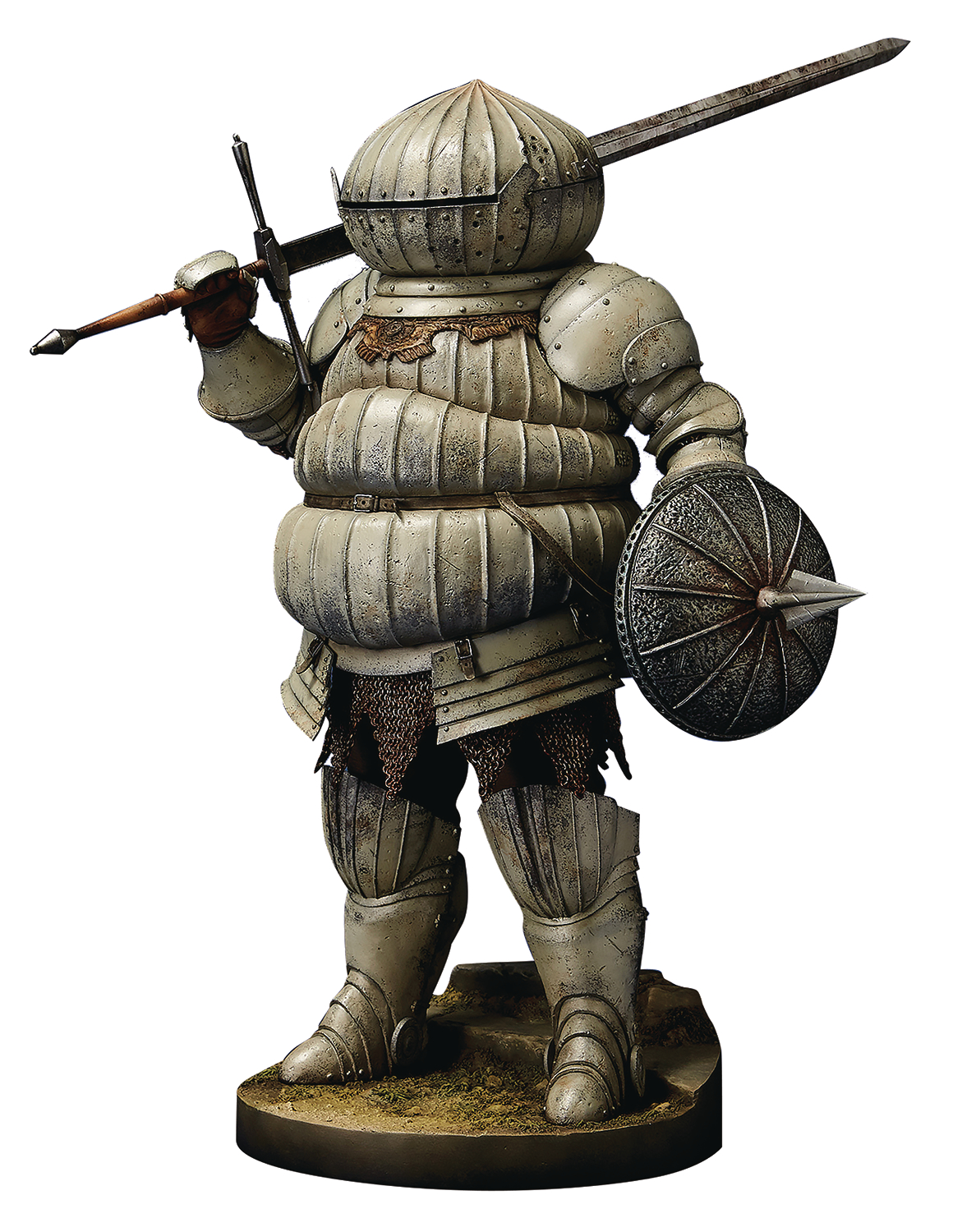 apr178929 dark souls siegmeyer of catarin 16 pvc figure