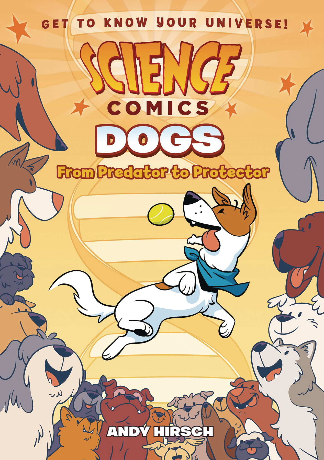 SCIENCE COMICS DOGS HC GN